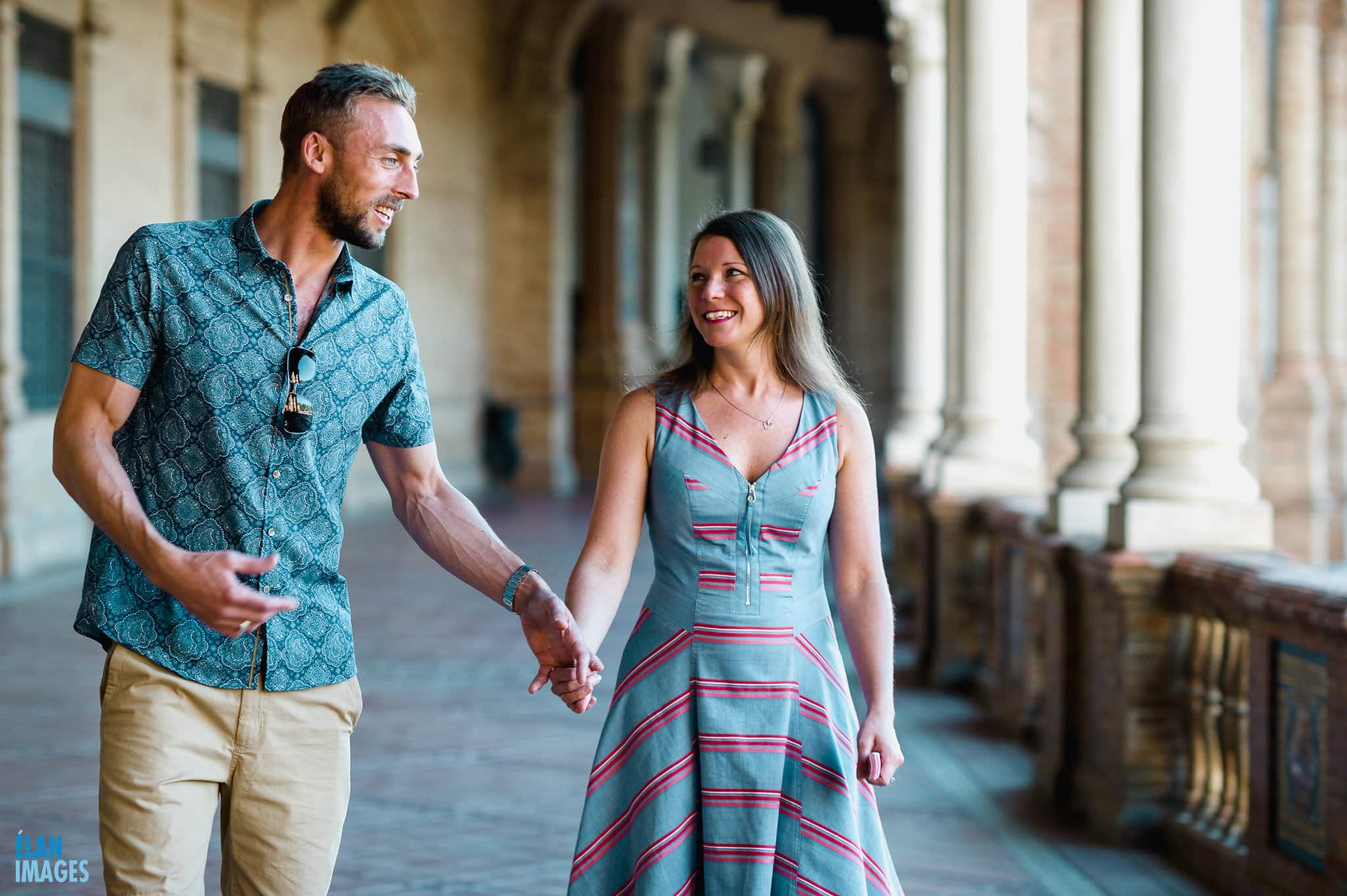 Plaza de España, Seville – Engagement Photo Shoot 10