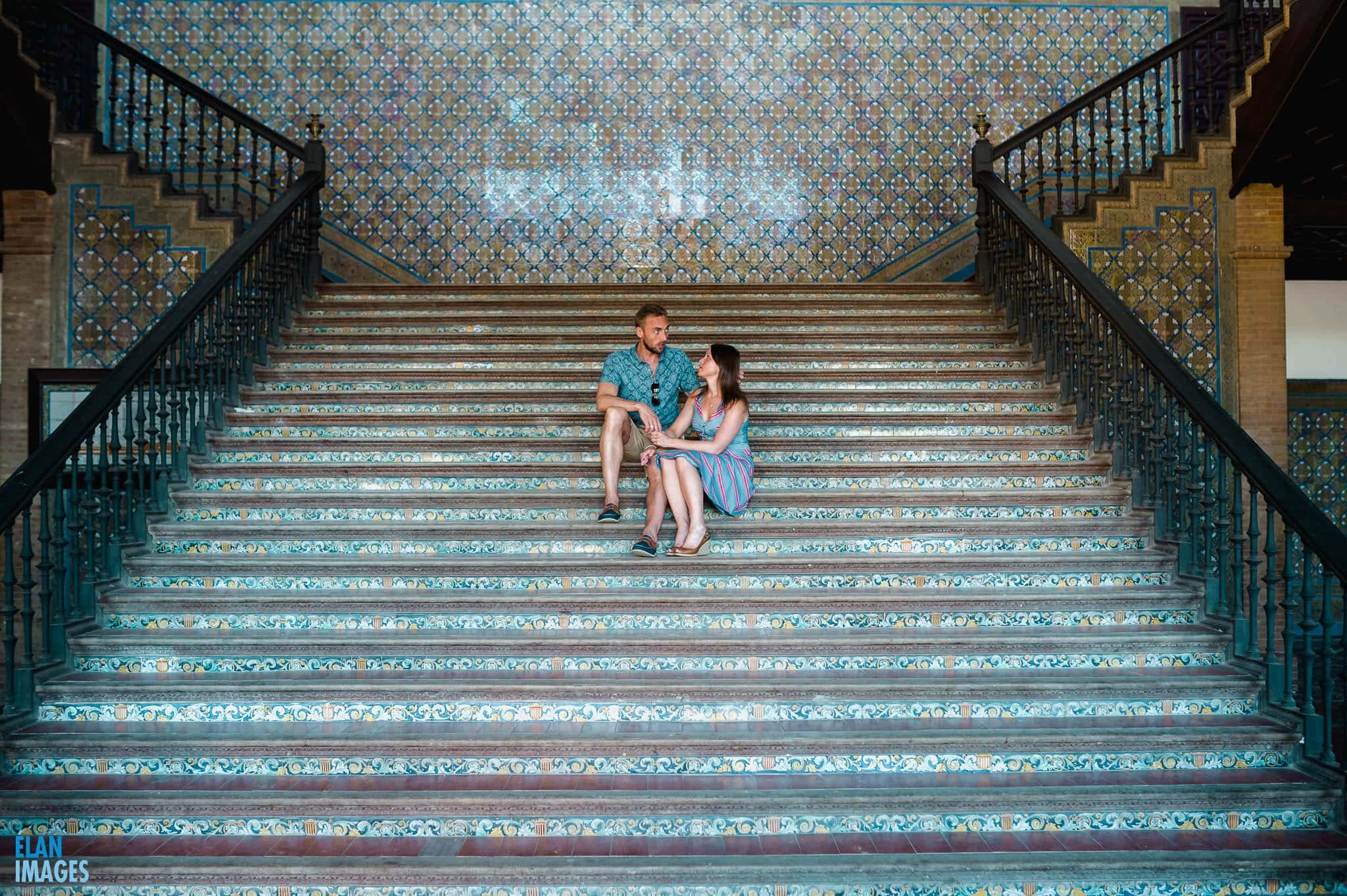 Plaza de España, Seville – Engagement Photo Shoot 11