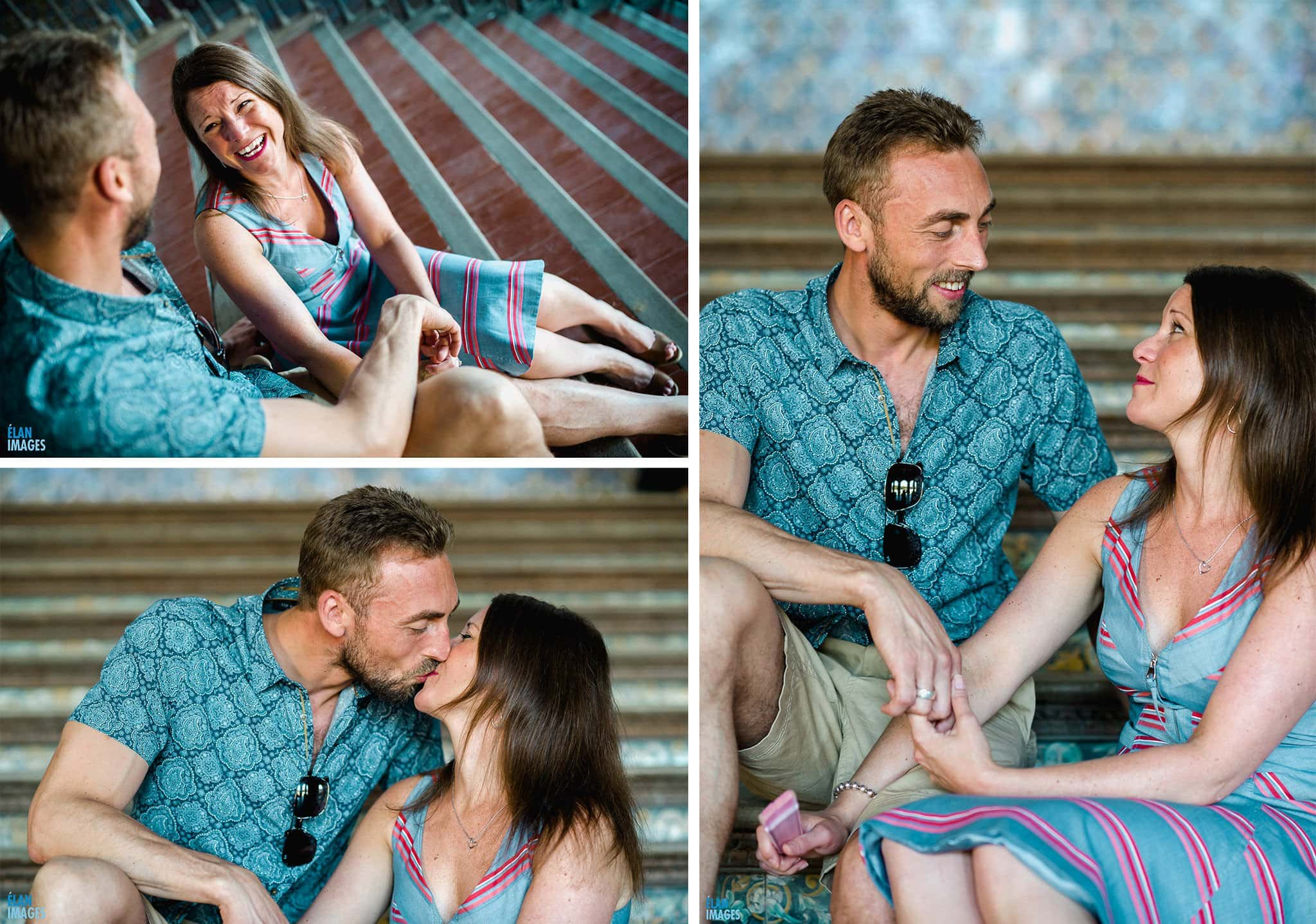 Plaza de España, Seville – Engagement Photo Shoot 12