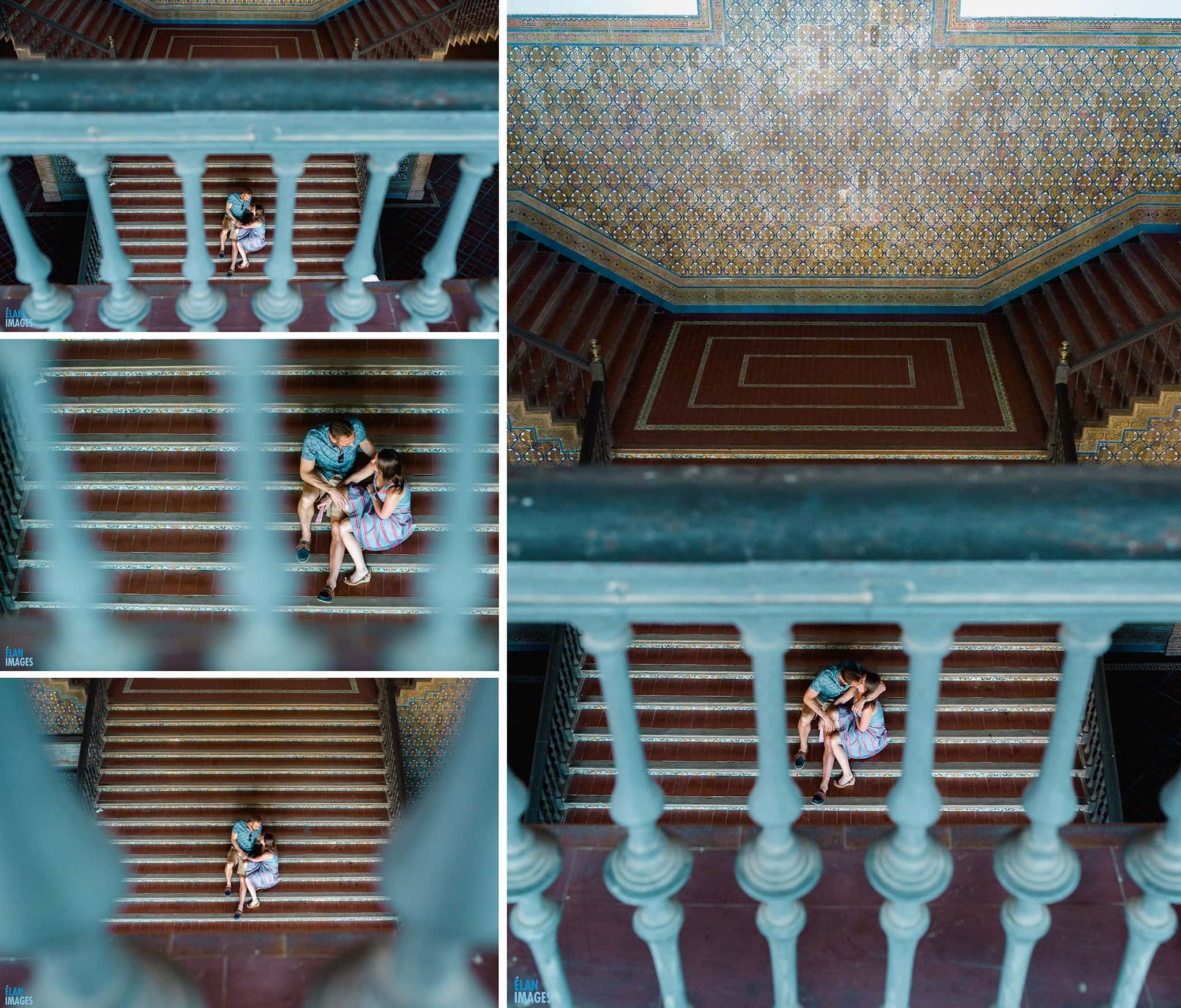 Plaza de España, Seville – Engagement Photo Shoot 15