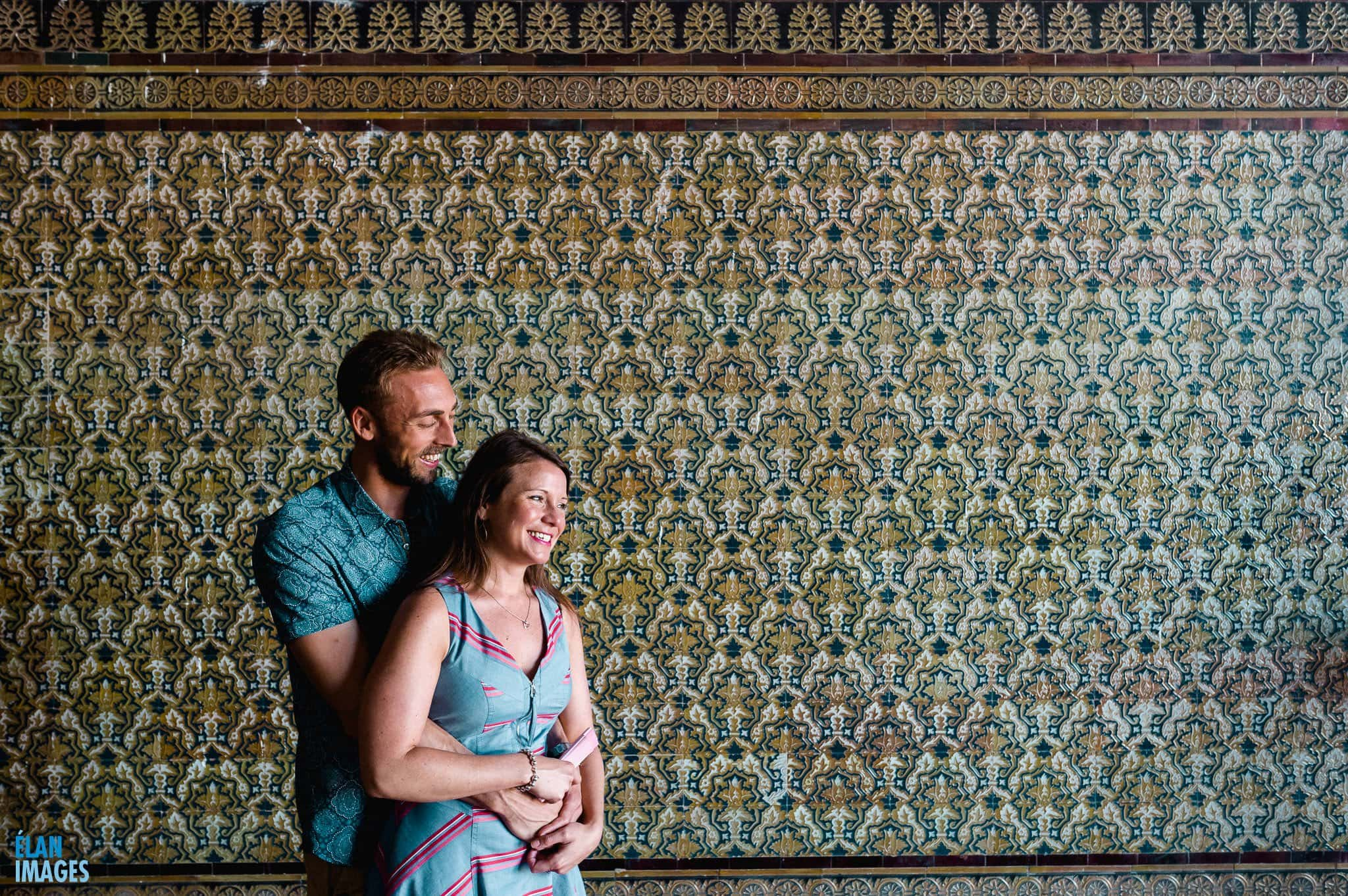 Plaza de España, Seville – Engagement Photo Shoot 20