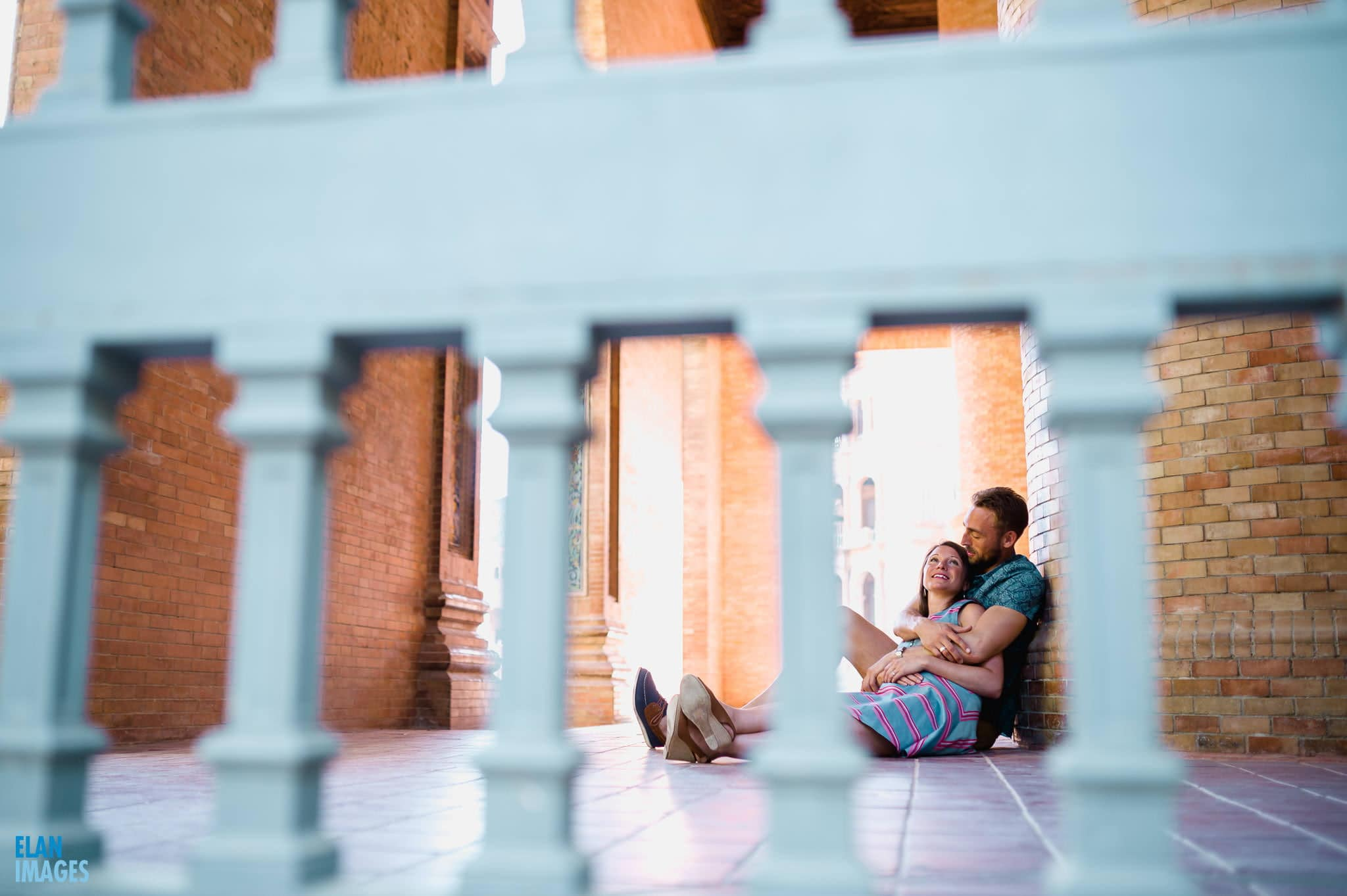 Plaza de España, Seville – Engagement Photo Shoot 26