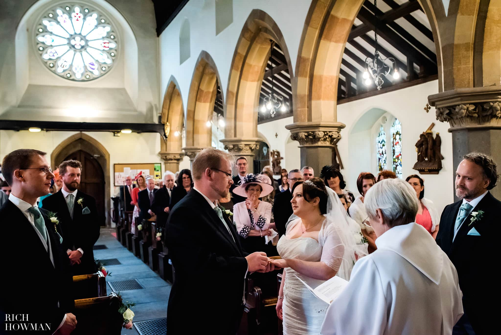 All Saints Church Wedding in Clevedon