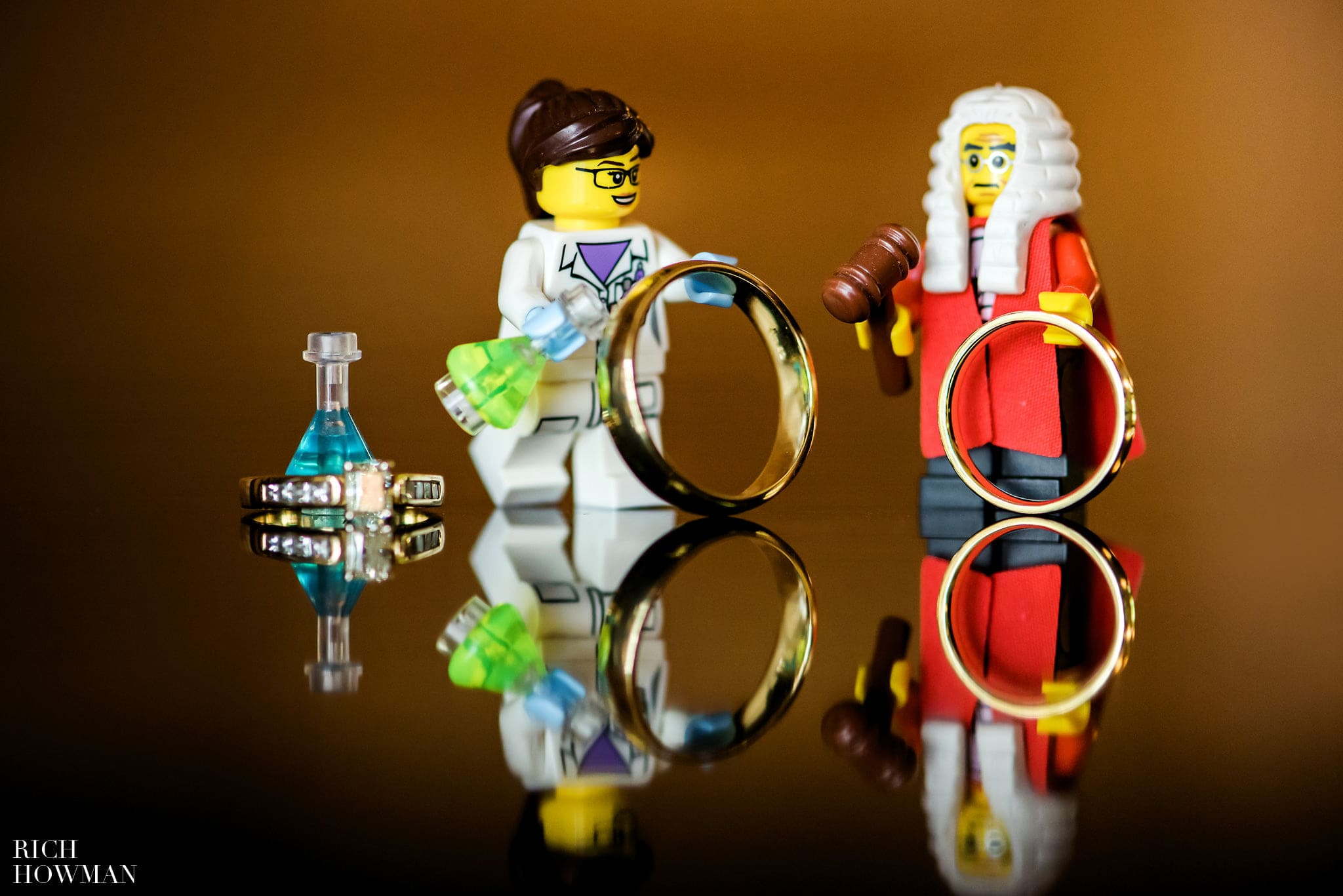 Bride and Groom Lego