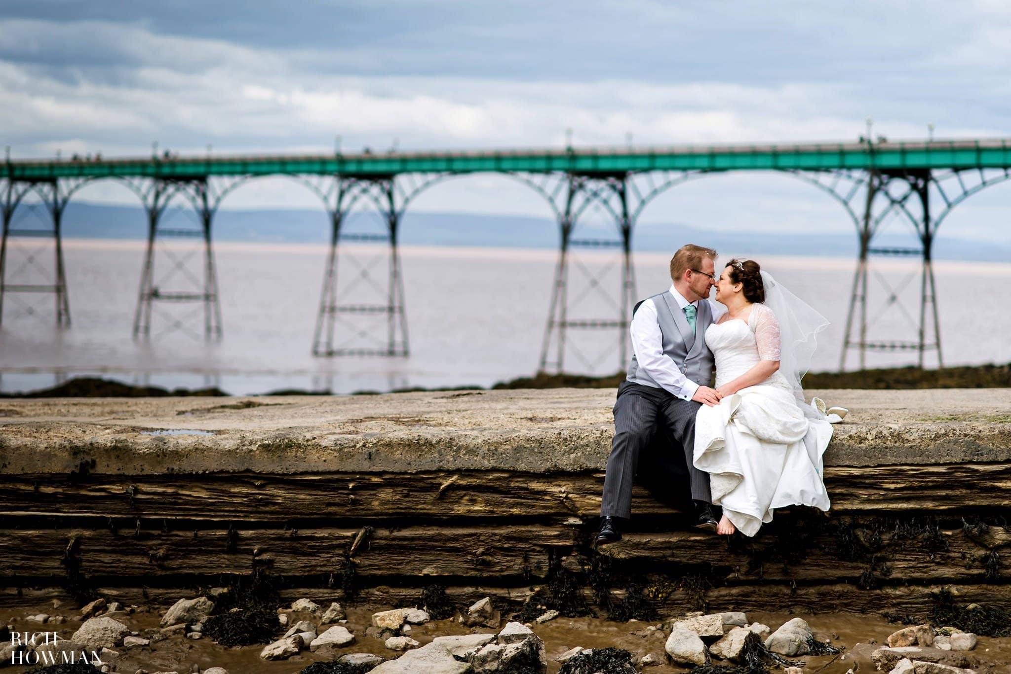Clevedon Pier Wedding Photographer