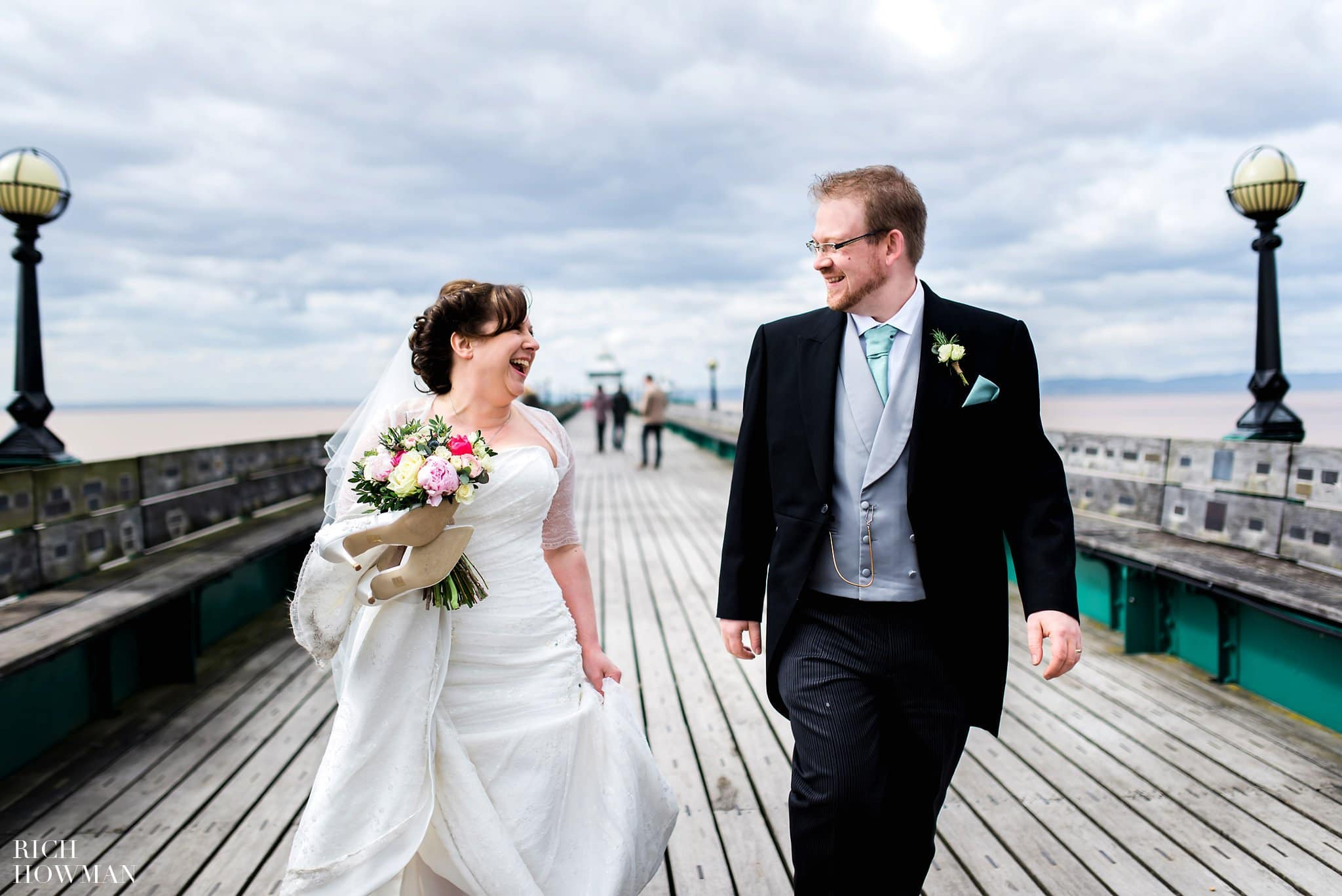 Clevedon Pier Wedding Photography