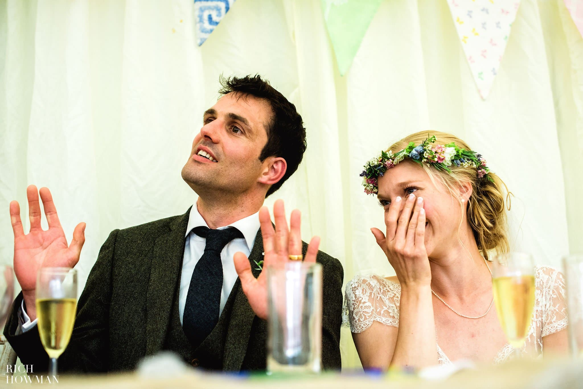 Folly Farm Centre Wedding 36