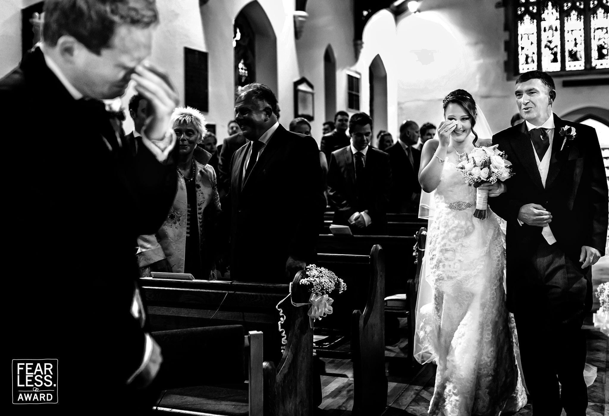 Winchester Wedding Photographer Fearless Photographers Award