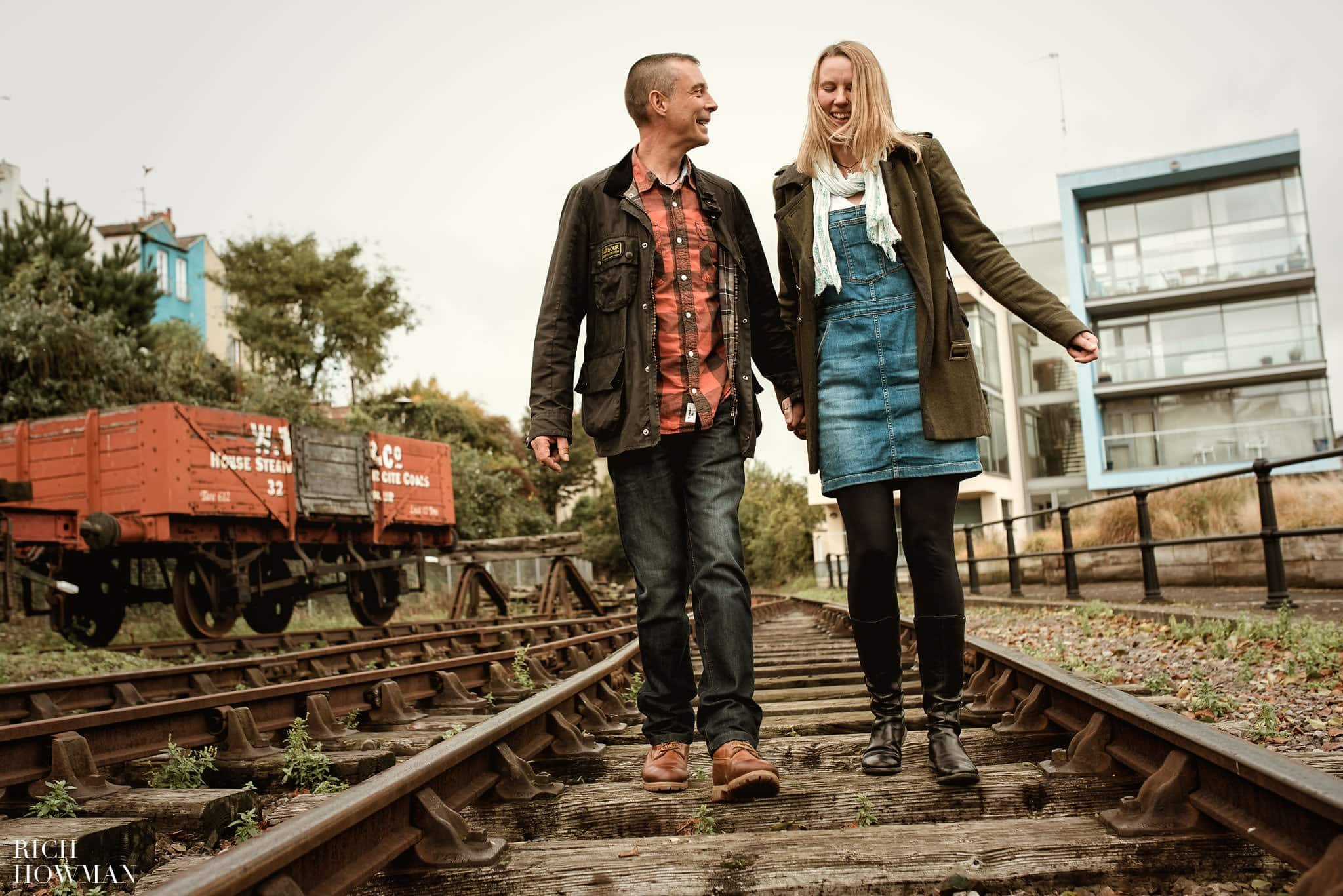 Engagement photography in Bristol by award winning photographer Rich Howman