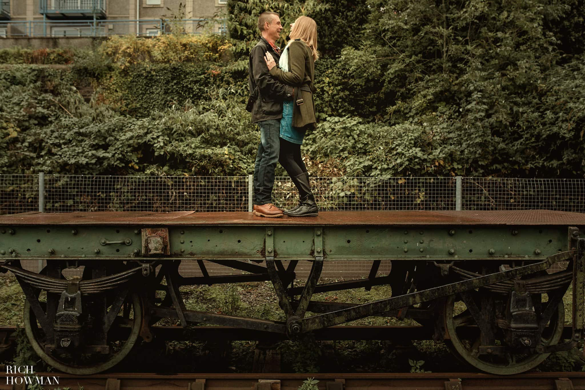 Engagement photographer in Bristol Rich Howman