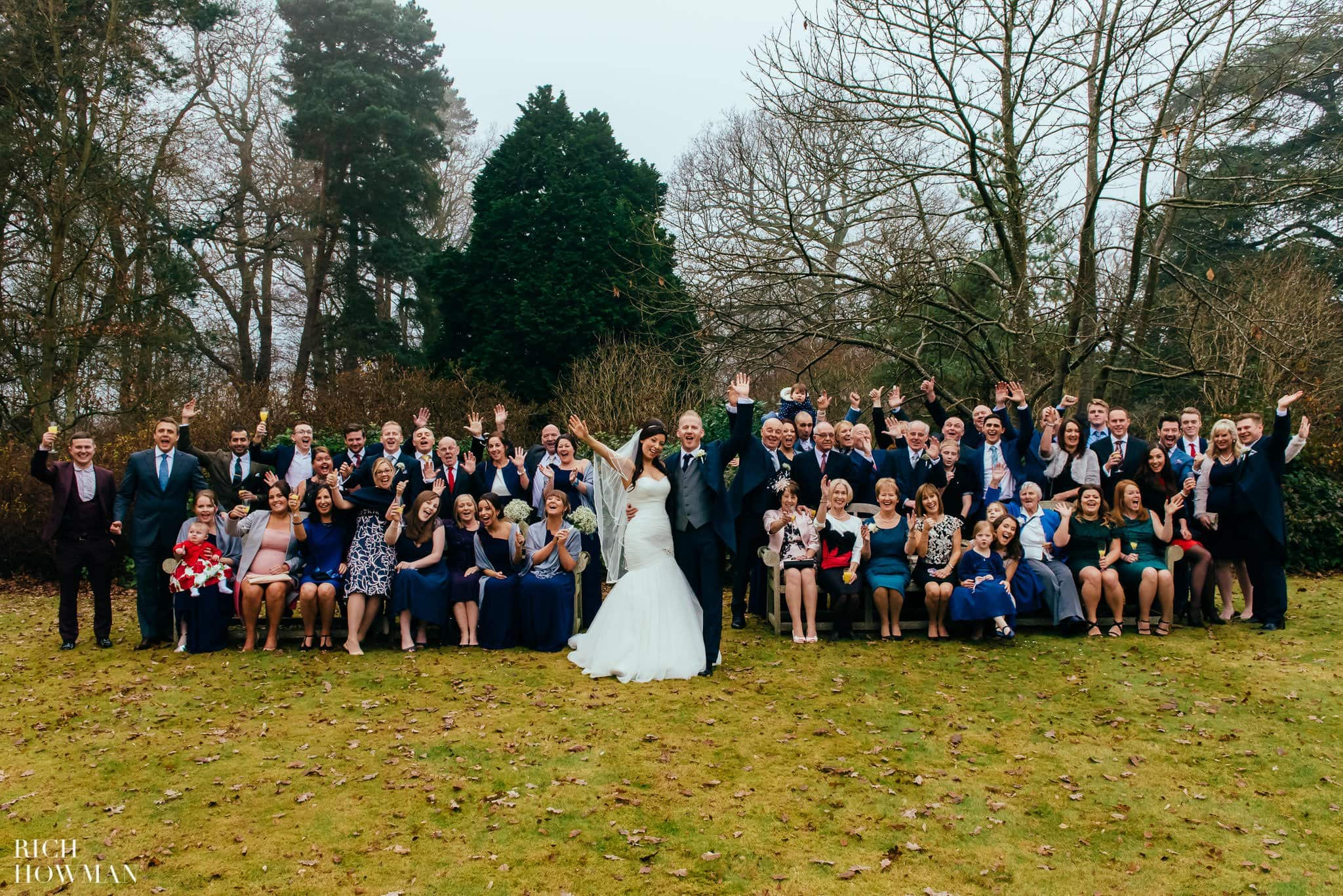 Yew Lodge Country House Wedding 21