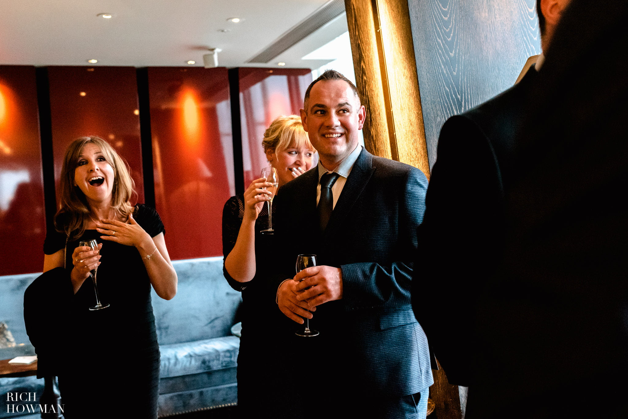 Wedding at The Shard, London | The Shard Wedding Photographer Rich Howman 4