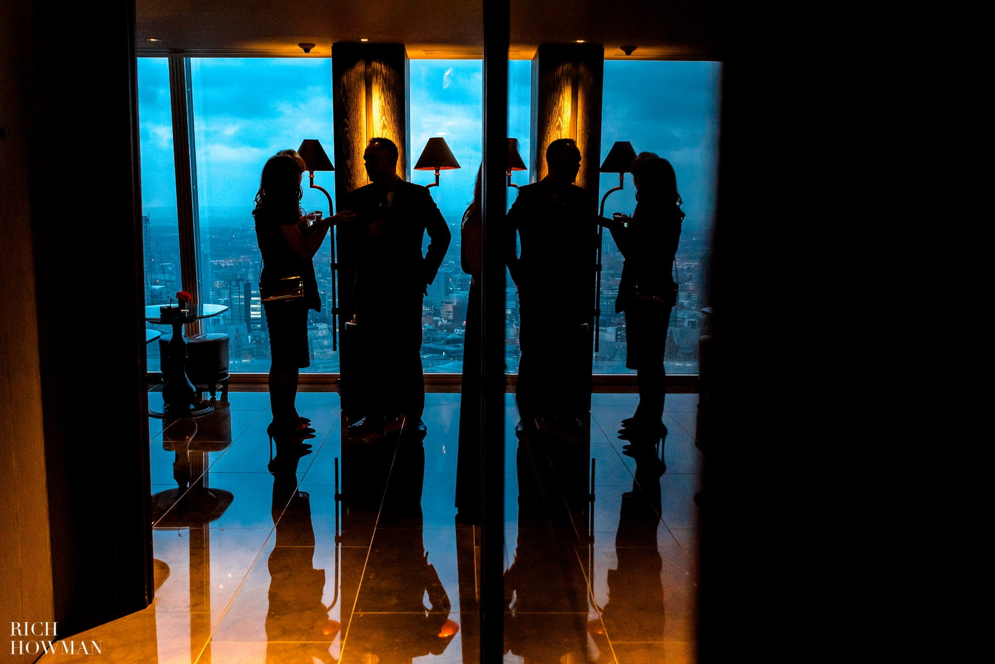 Wedding at The Shard, London | The Shard Wedding Photographer Rich Howman 5