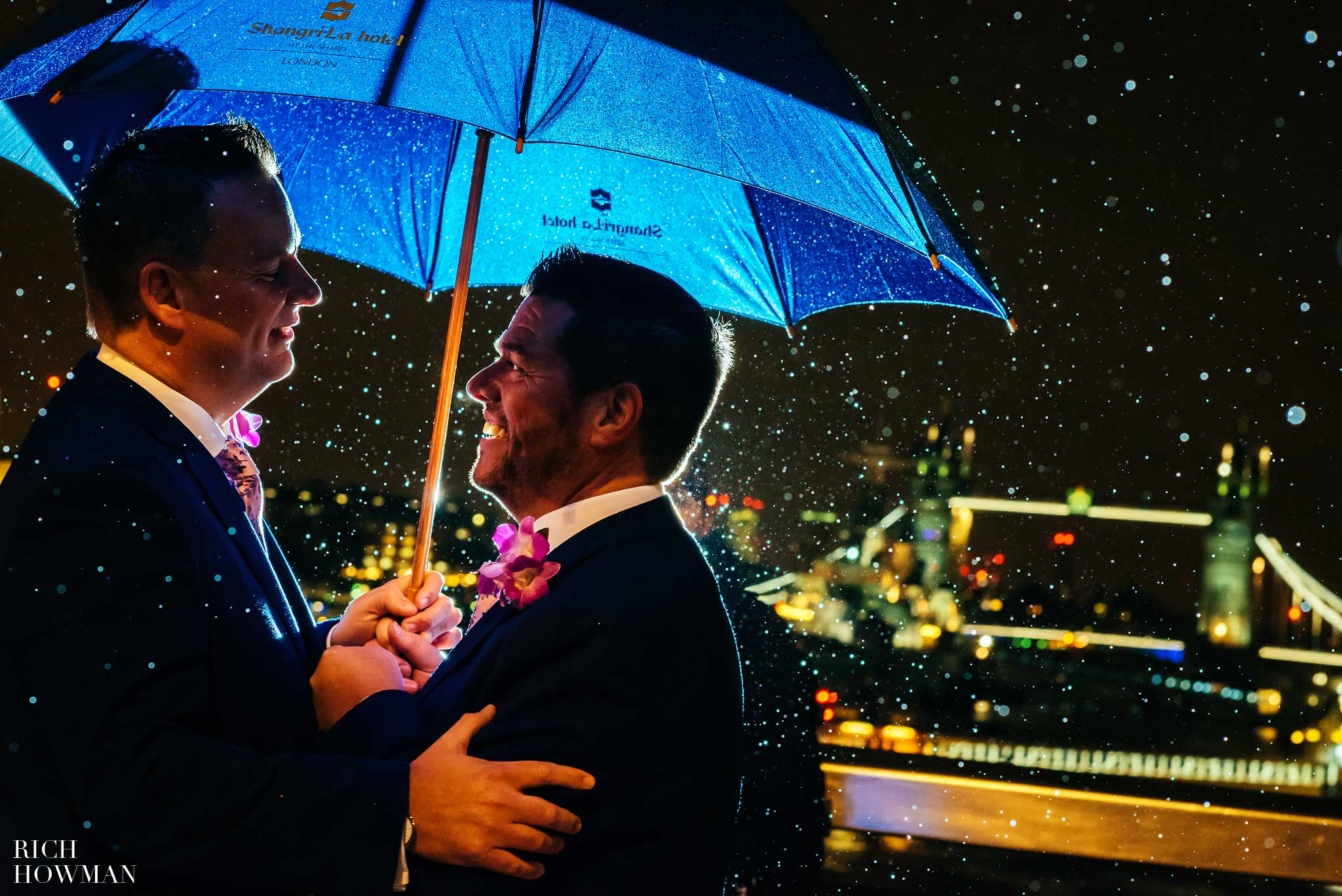 Wedding at the Shard in London, by London Wedding Photographer Rich Howman