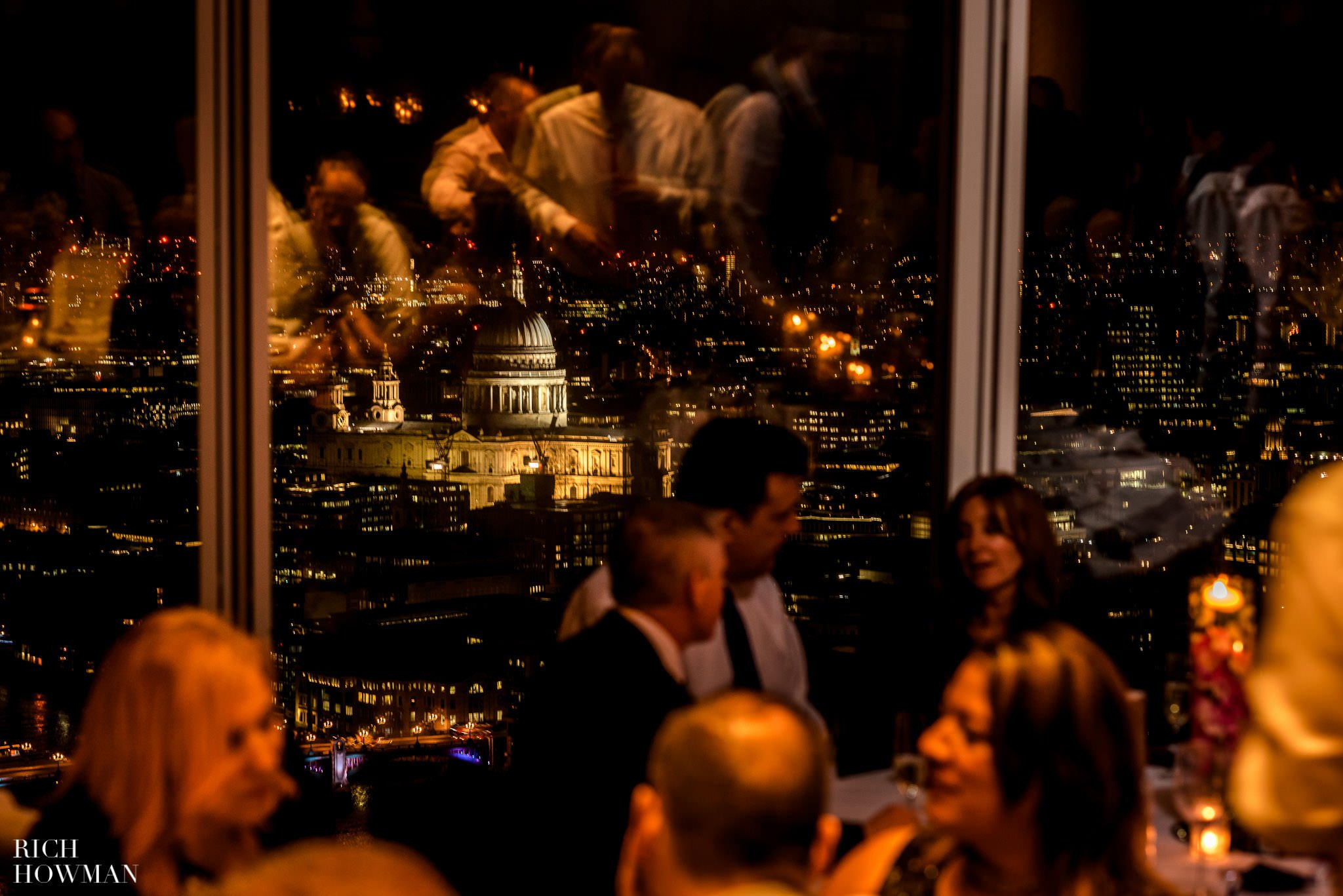 Wedding at The Shard, London | The Shard Wedding Photographer Rich Howman 36