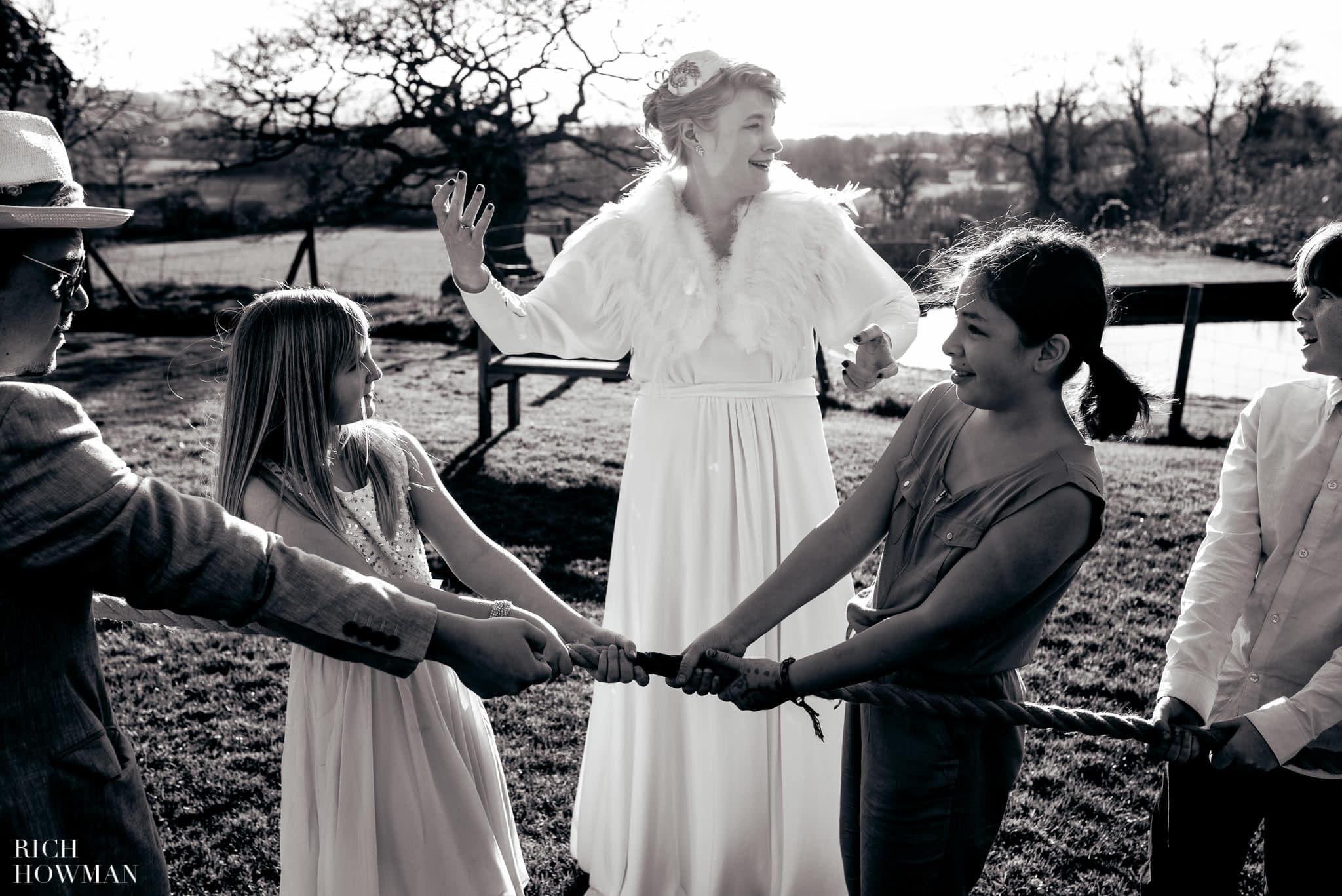 Folly Farm Vintage Wedding 49