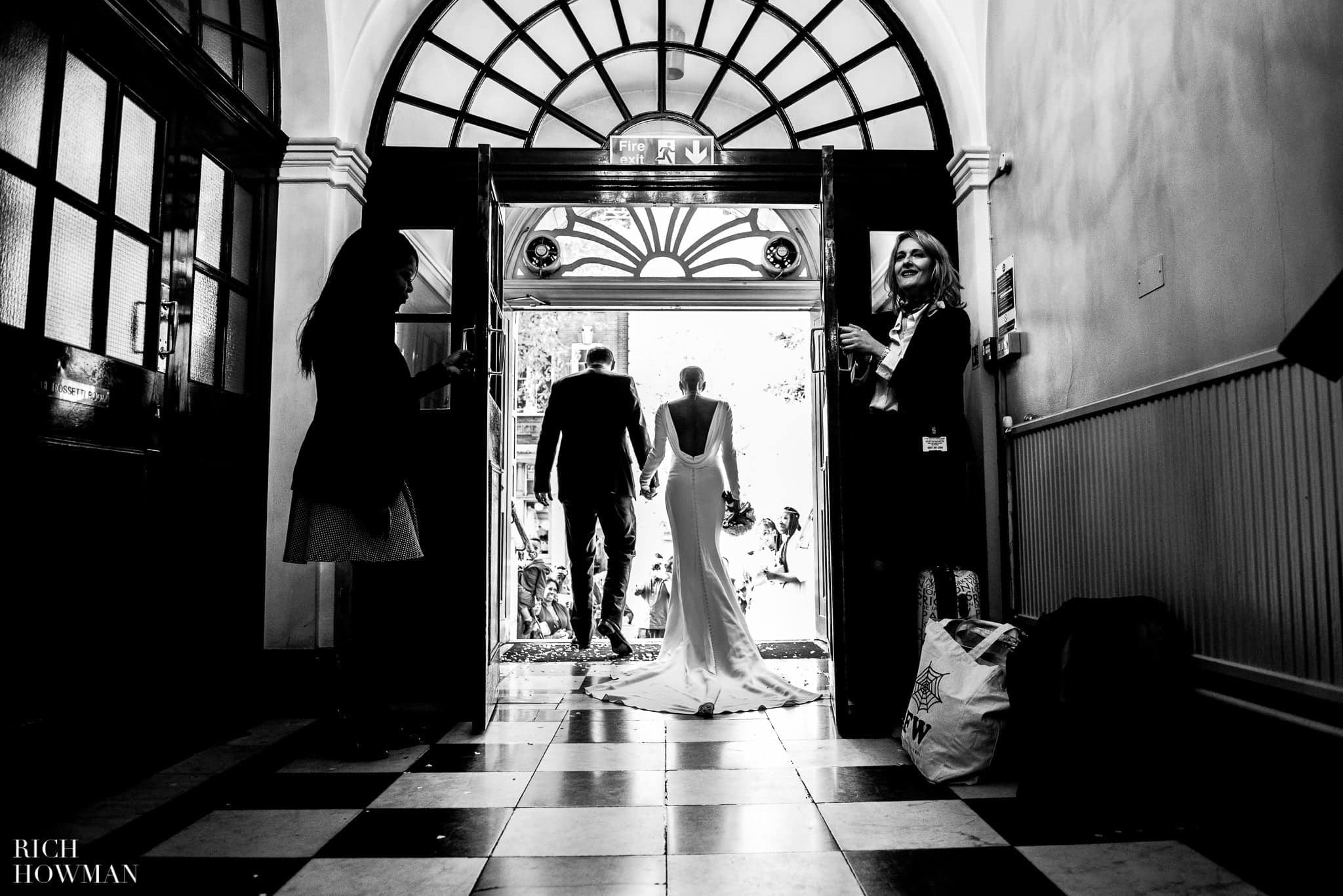 Wedding at Chelsea Old Town Hall & Bluebird, London 38