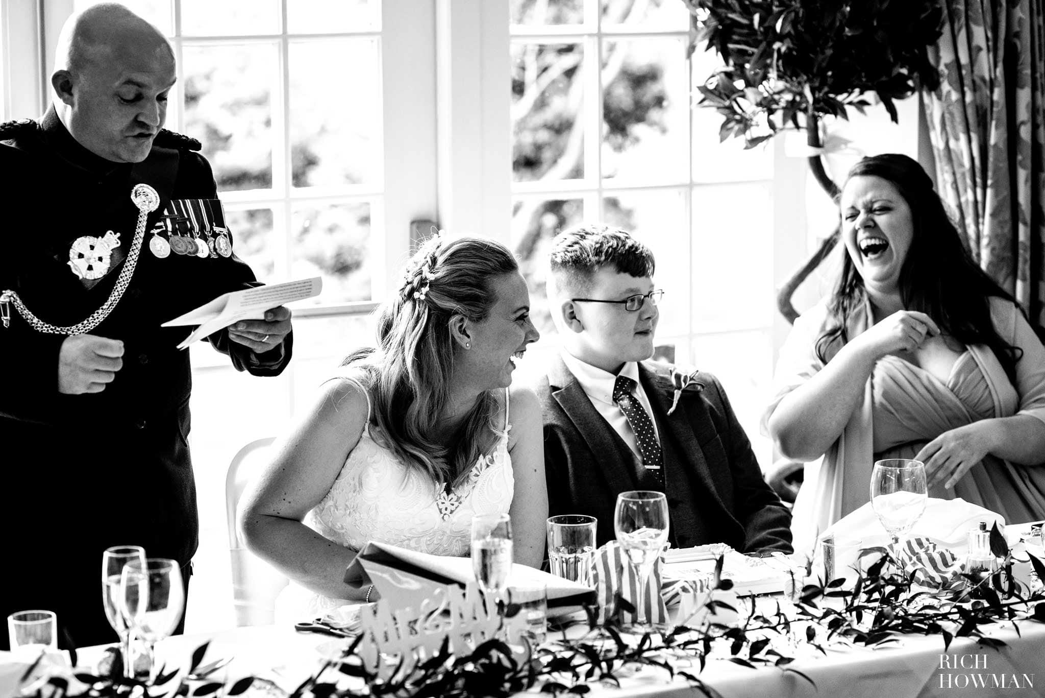 Leigh Park Hotel Wedding Photographer 1