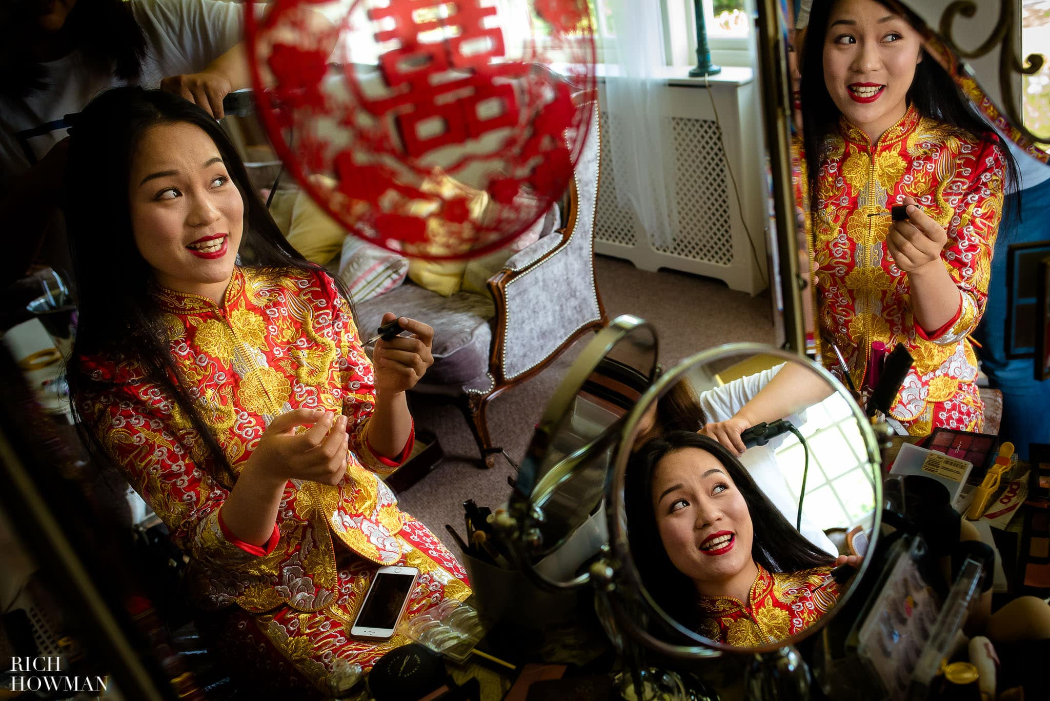 Chinese Wedding at Brinsop Court