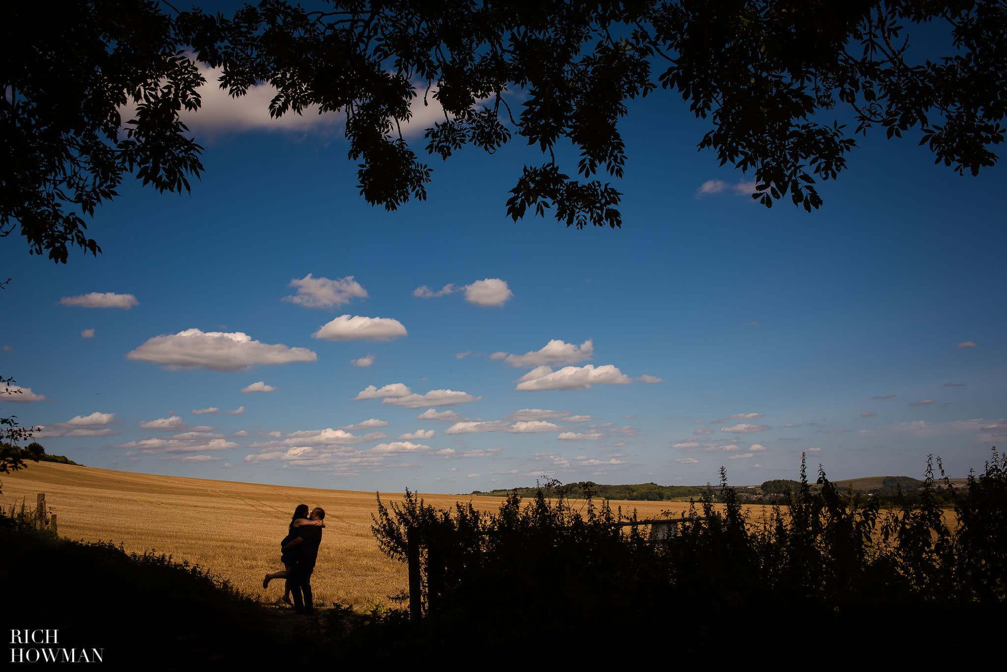 Engagement Photos Cley Hill Warminster