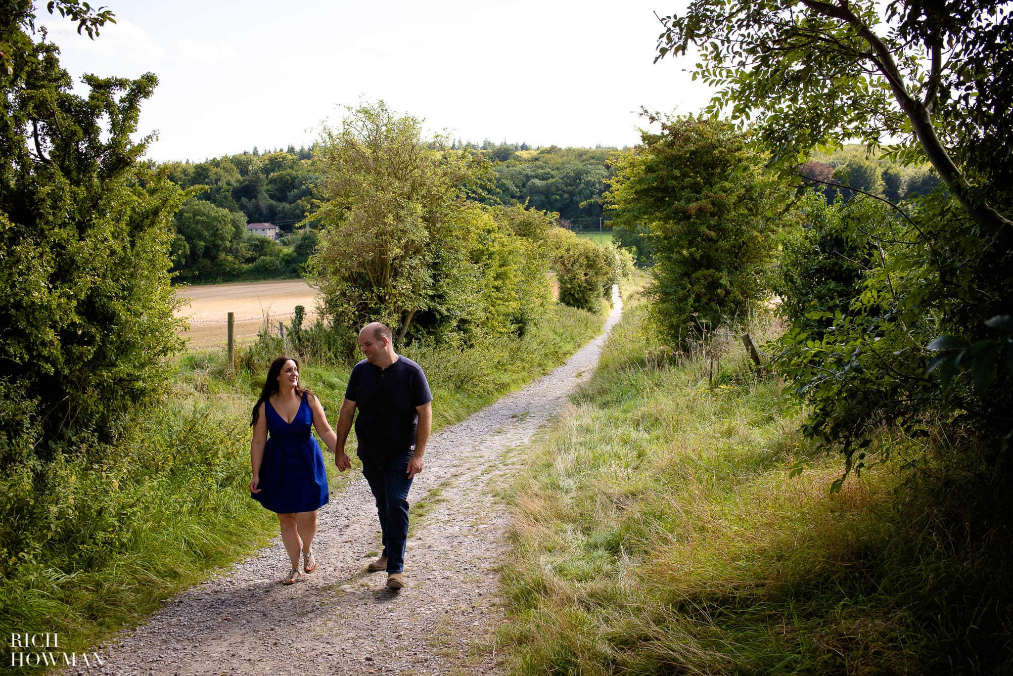 Engagement Photo Shoot Cley Hill Warminster 11