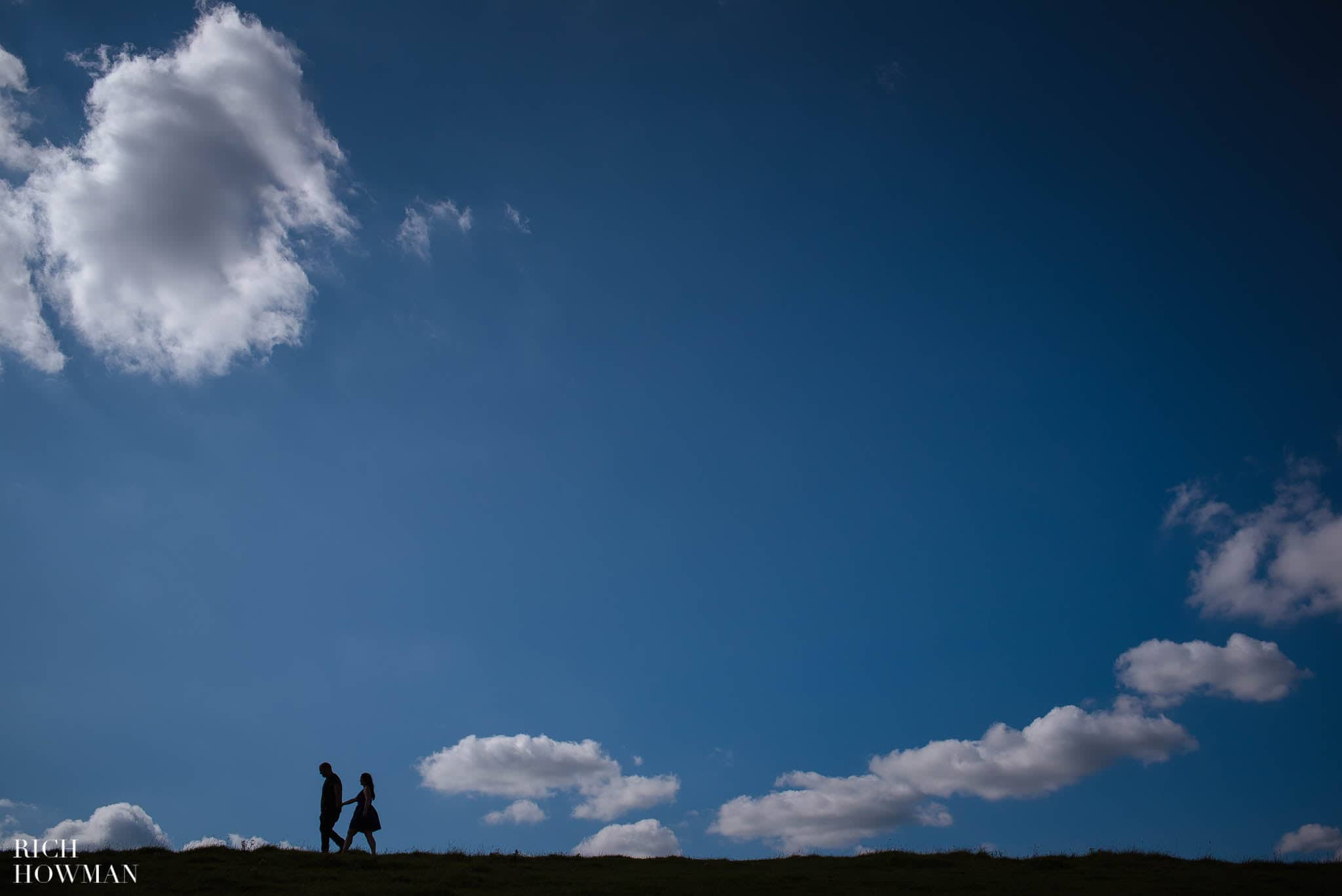 Engagement Photo Shoot Cley Hill Warminster 12