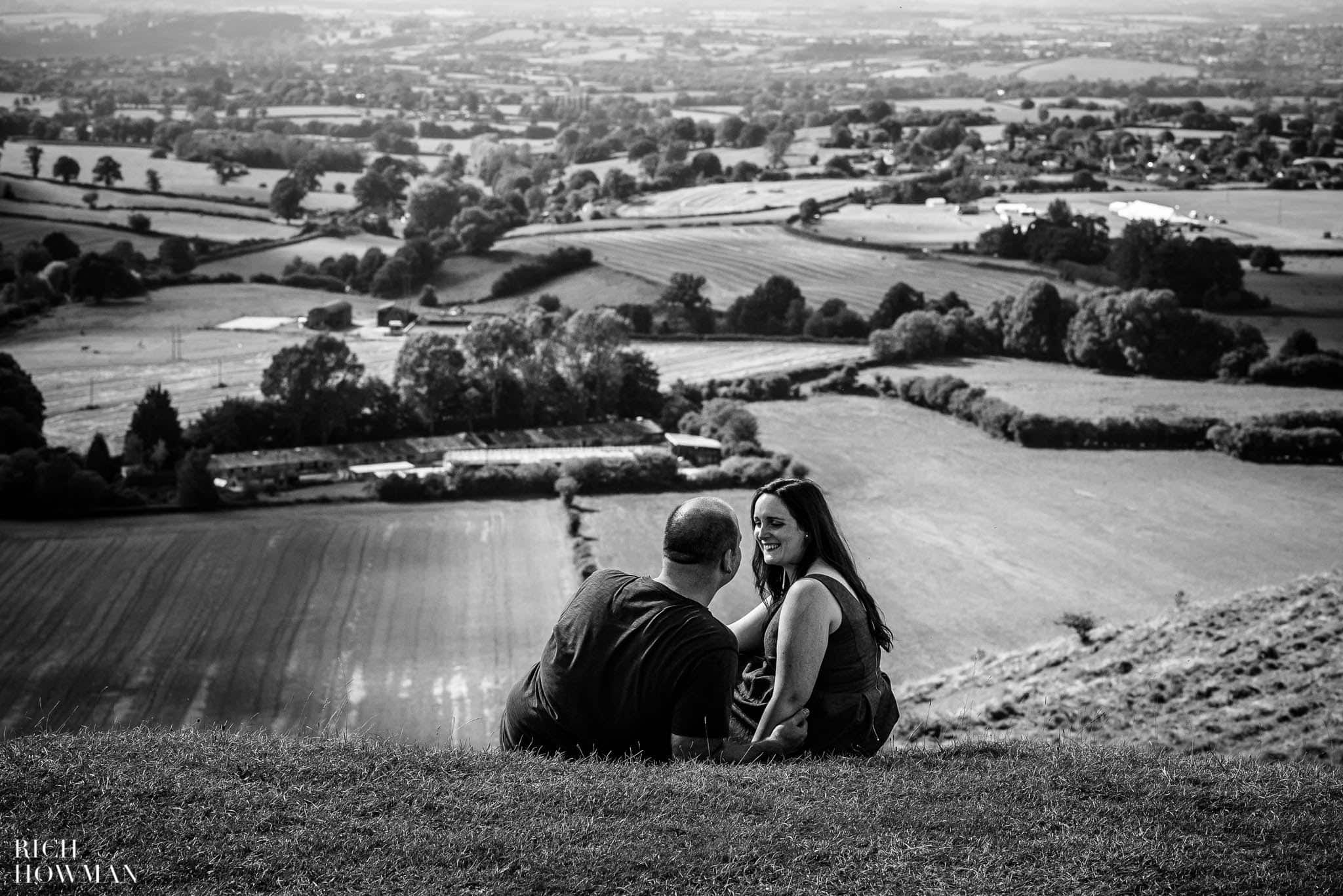 Engagement Photo Shoot Cley Hill Warminster 14