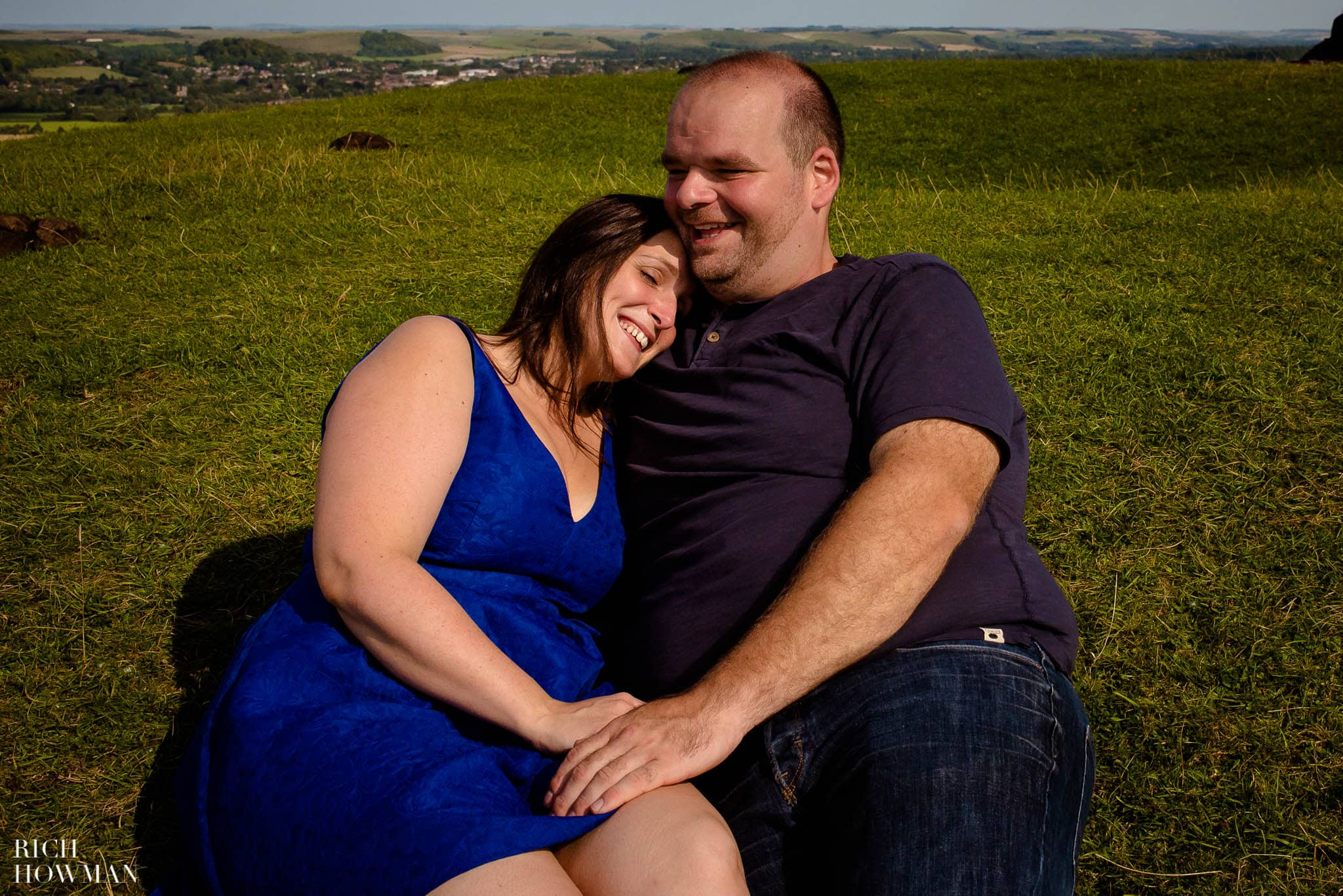 Engagement Photo Shoot Cley Hill Warminster 15