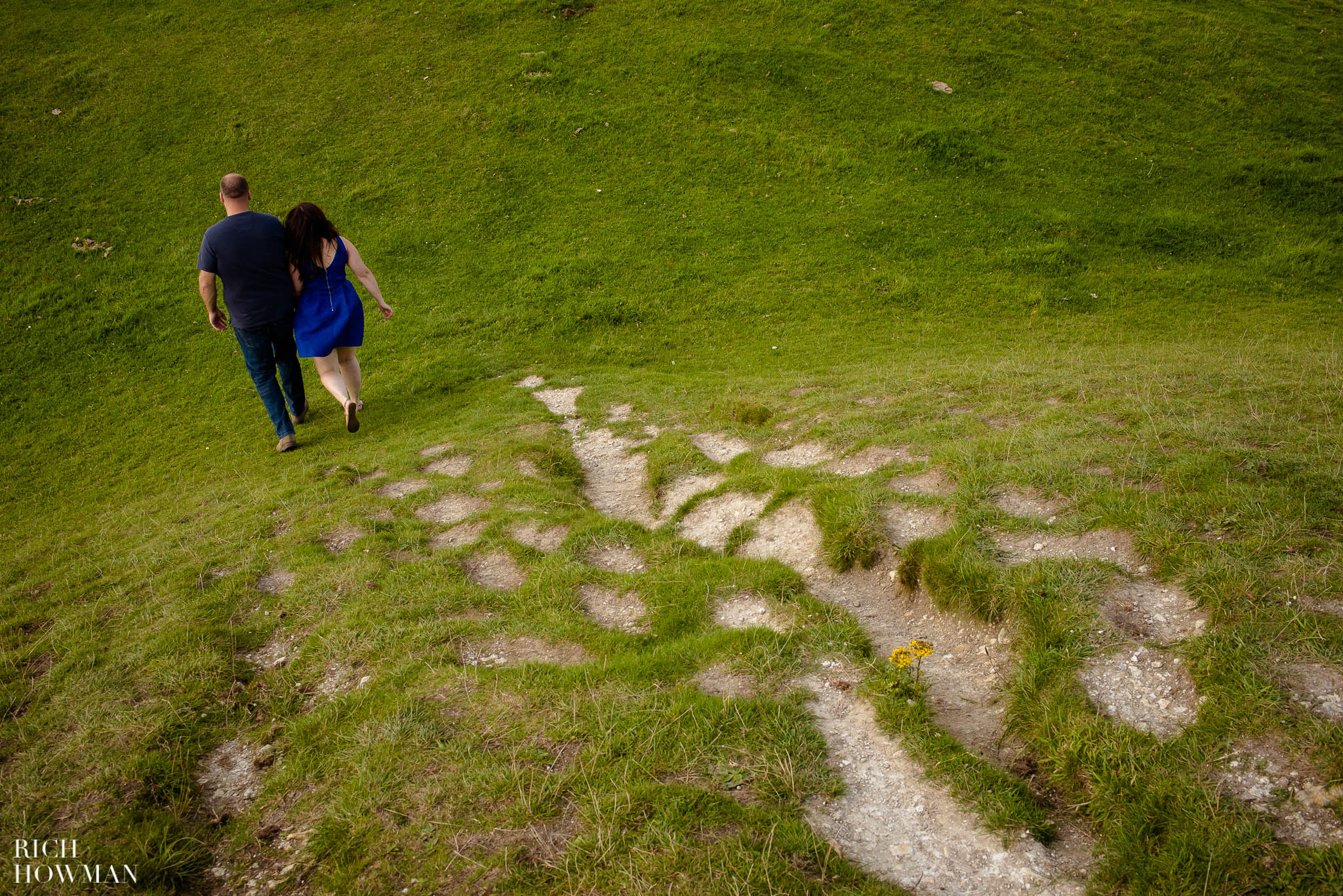 Engagement Photo Shoot Cley Hill Warminster 16