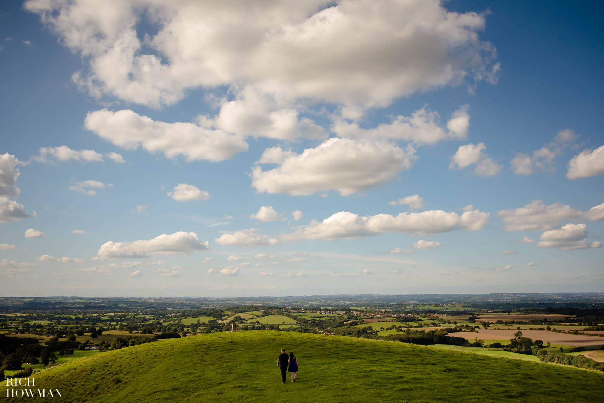 Engagement Photo Shoot Cley Hill Warminster 17