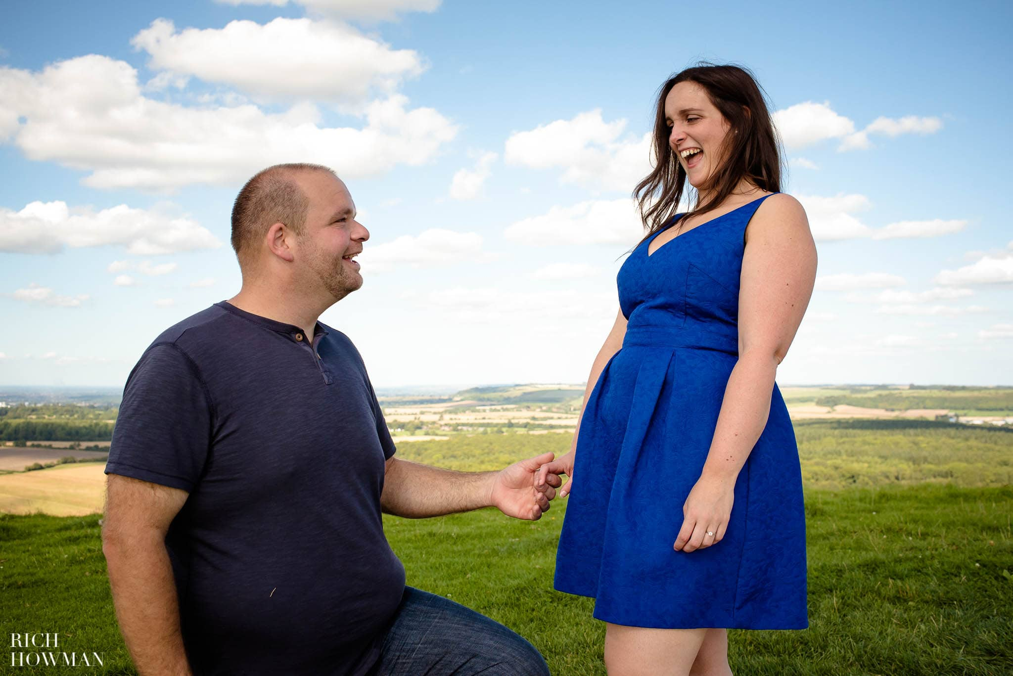 Engagement Photo Shoot Cley Hill Warminster 18