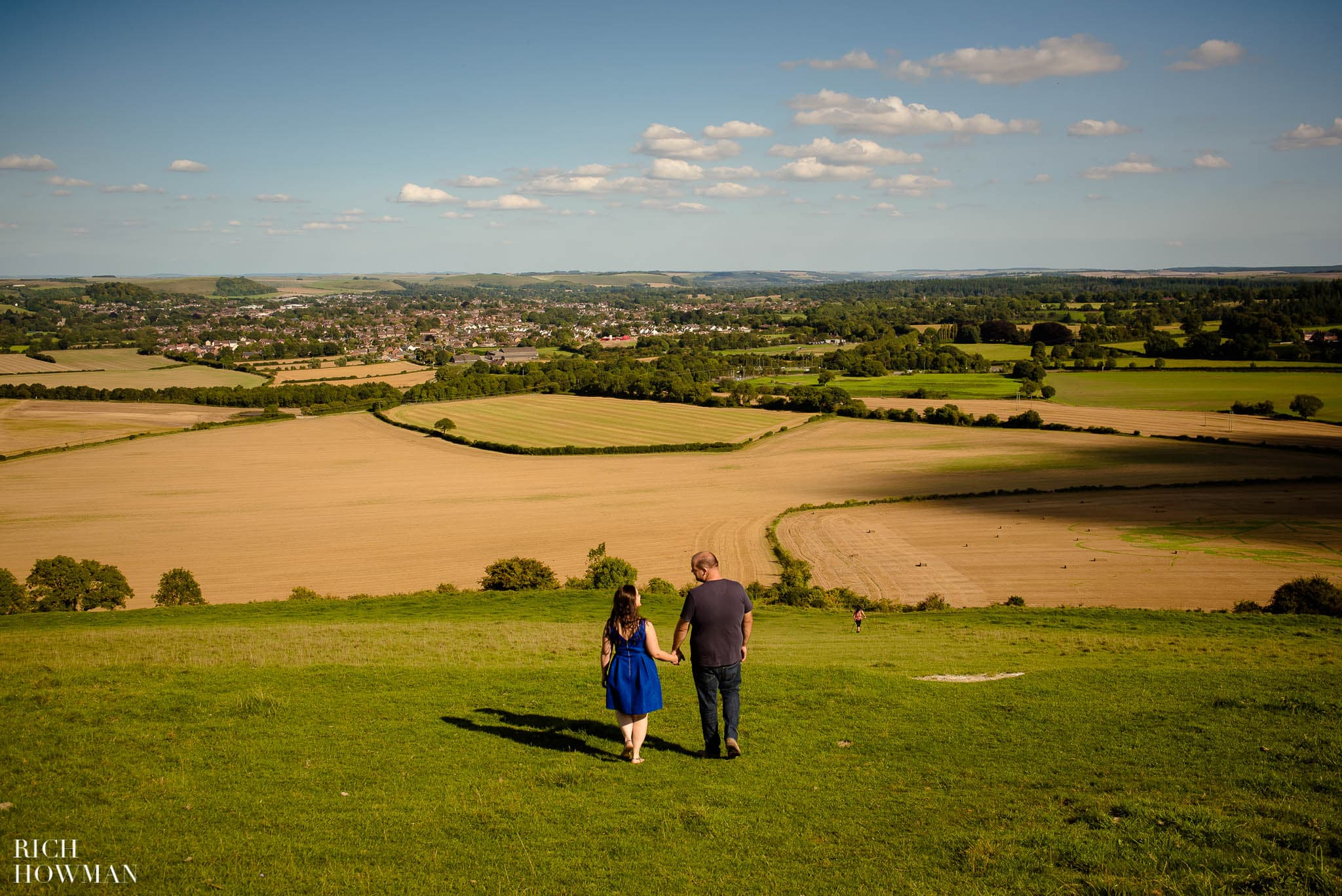 Engagement Photo Shoot Cley Hill Warminster 23