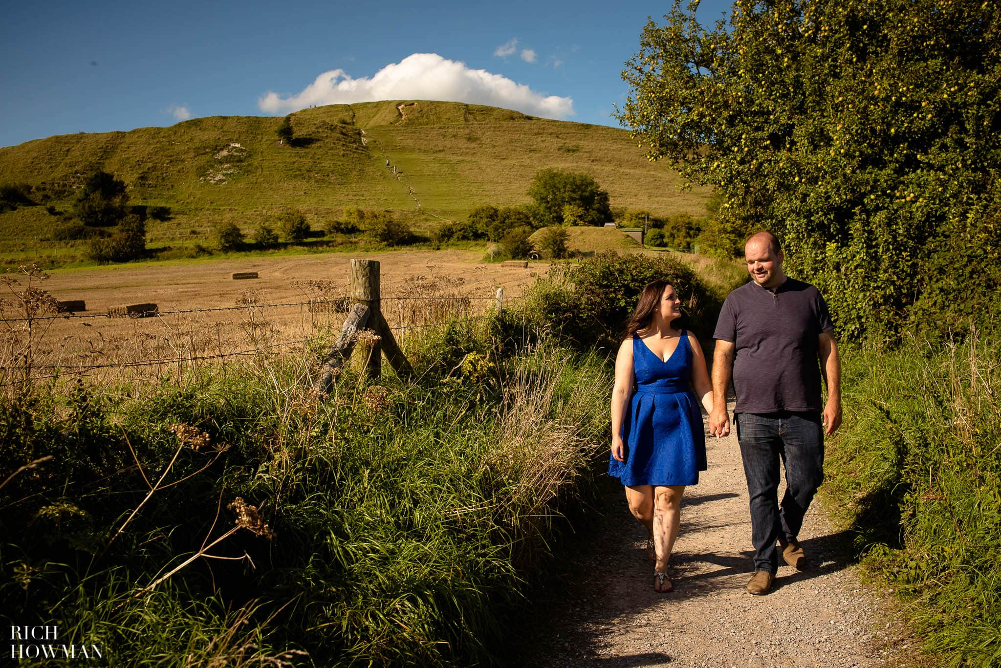 Engagement Photo Shoot Cley Hill Warminster 26
