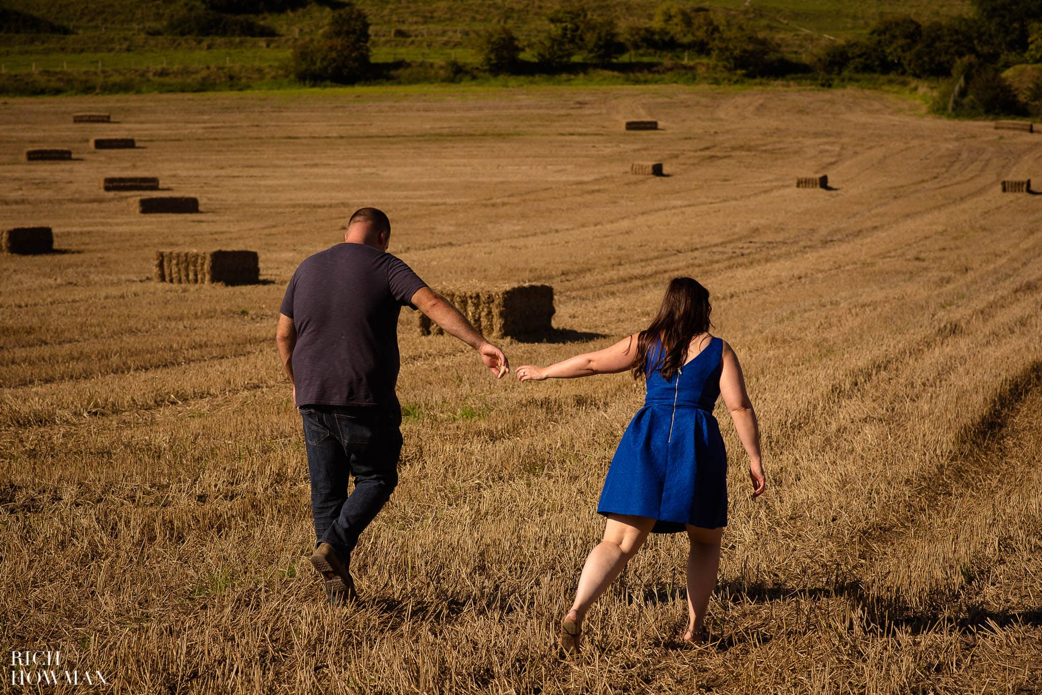 Engagement Photo Shoot Cley Hill Warminster 27