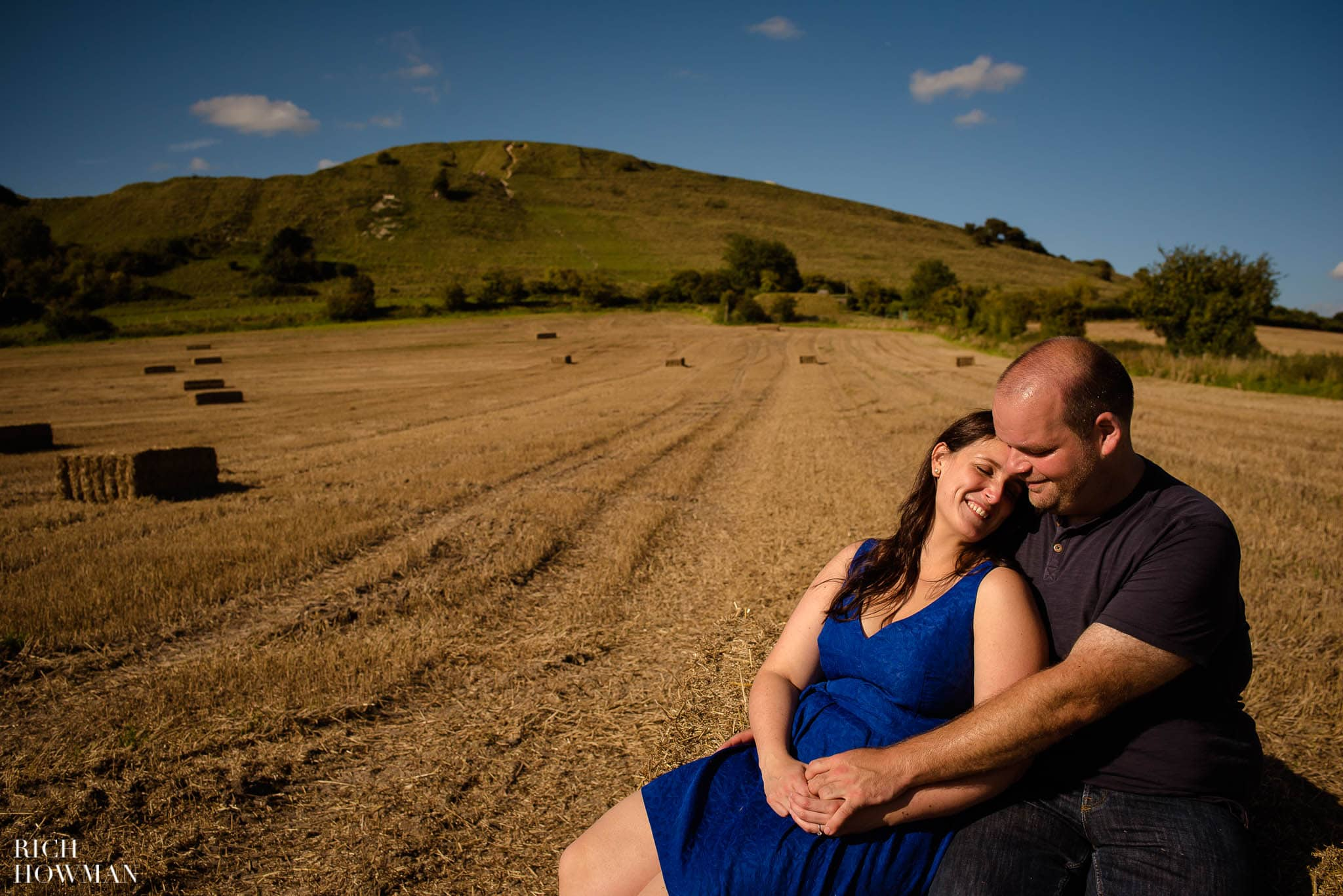 Engagement Photo Shoot Cley Hill Warminster 29