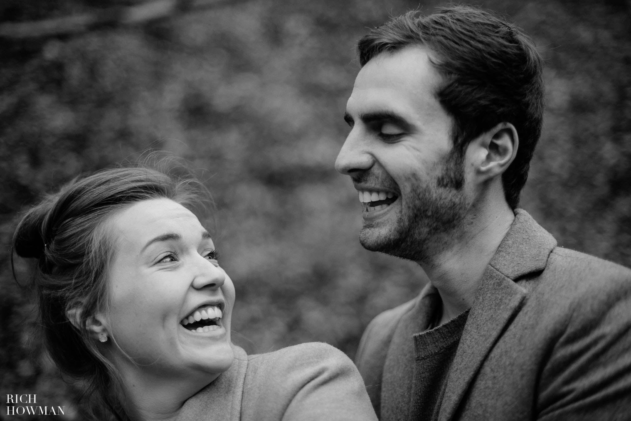 Woodland Engagement Photos in Bristol