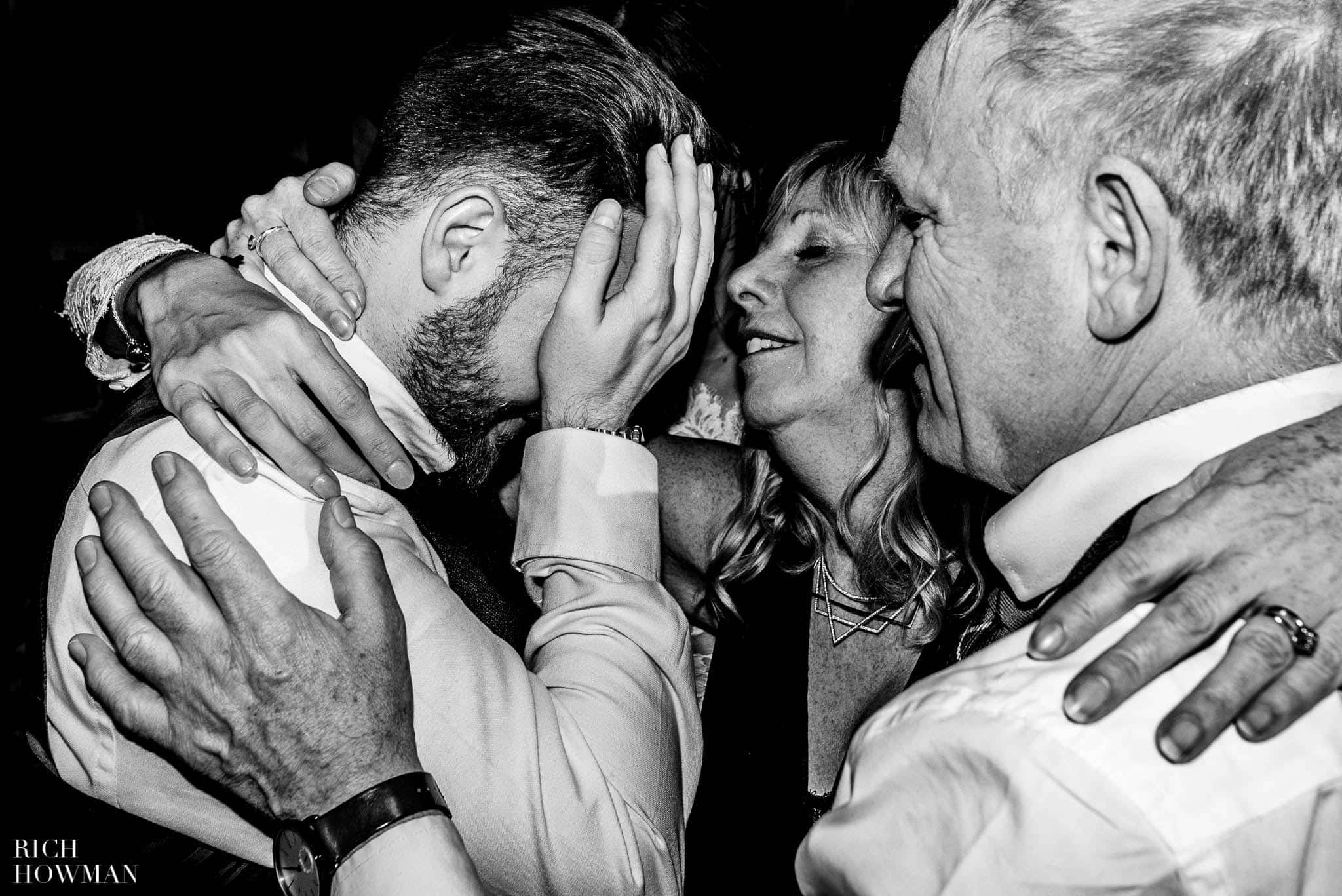 Emotional photo of family love at a Lillibrooke Manor Wedding
