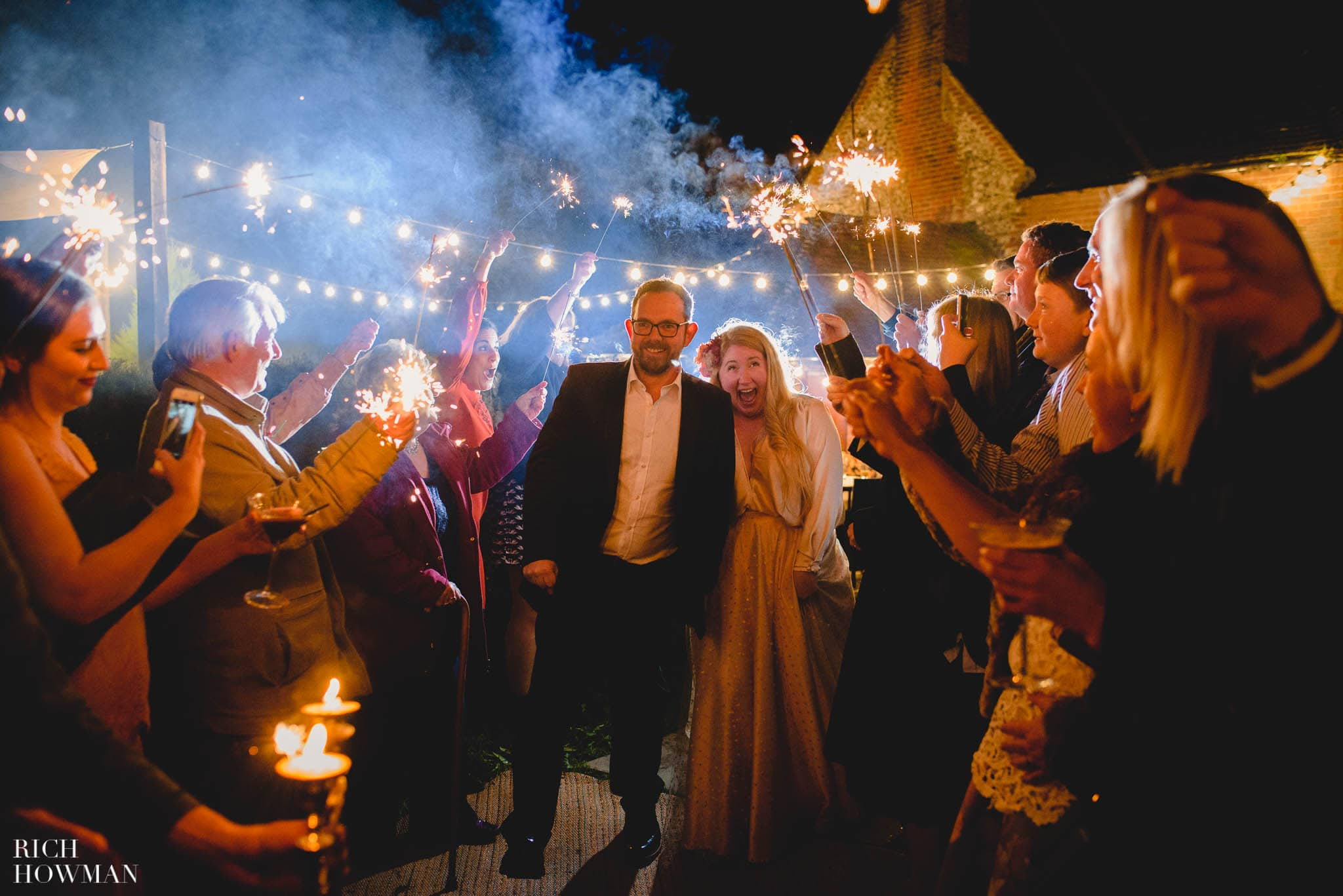 How to take wedding Sparkler Photos