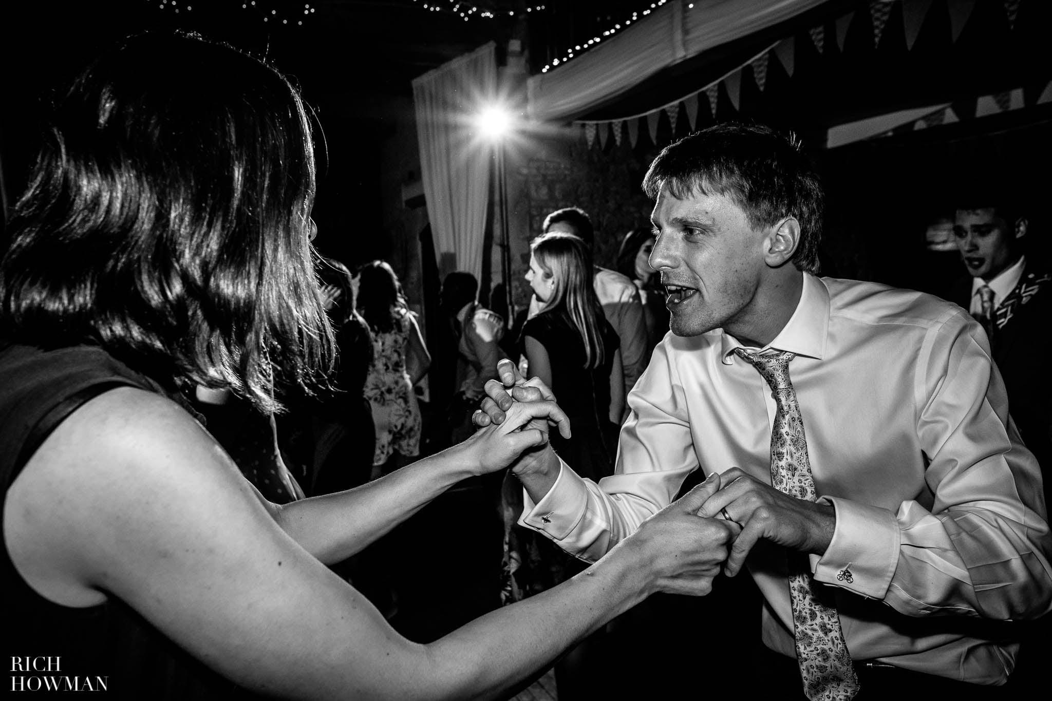 Great Tythe Barn Wedding in Tetbury 103