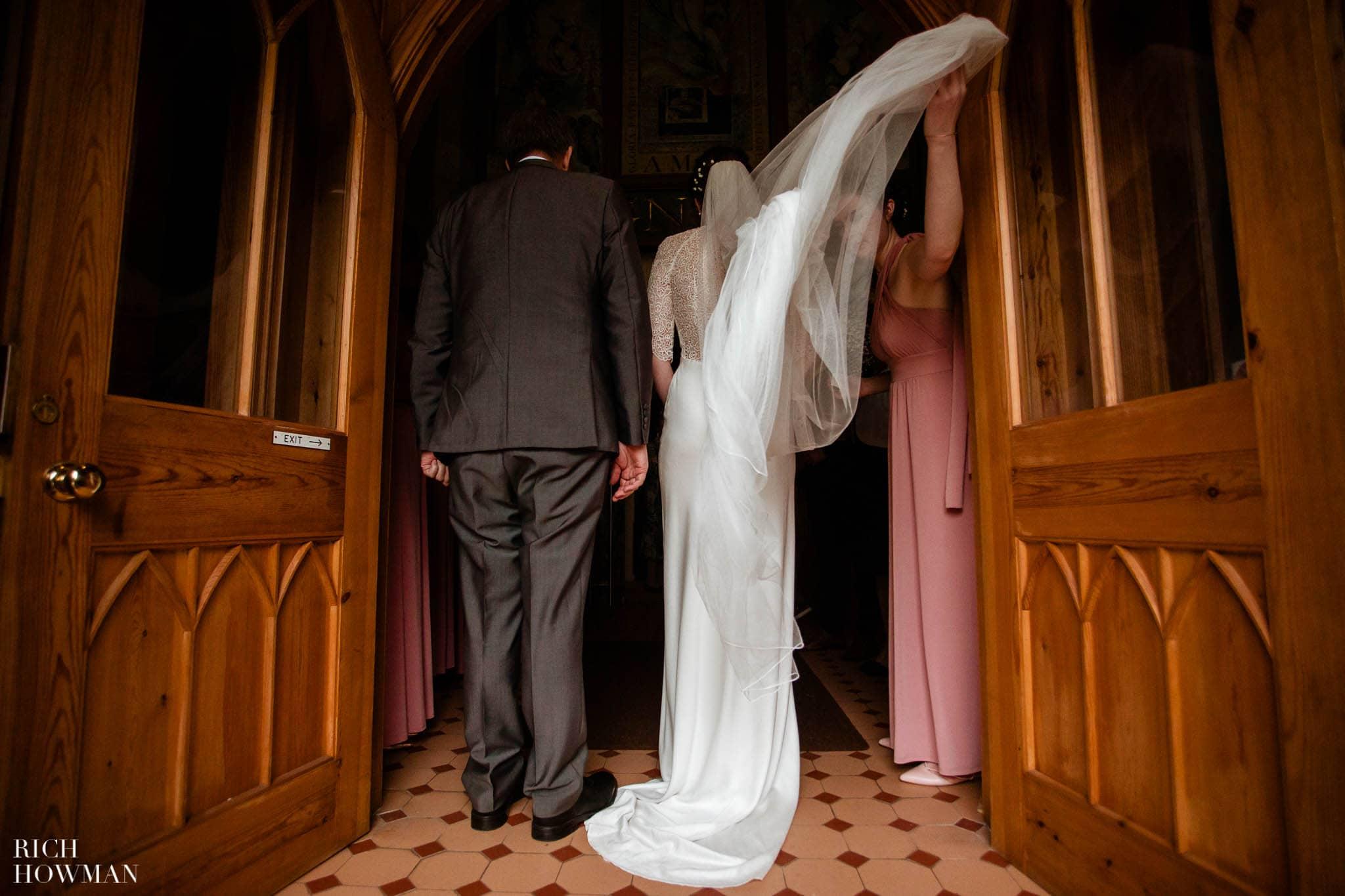 Great Tythe Barn Wedding in Tetbury 42