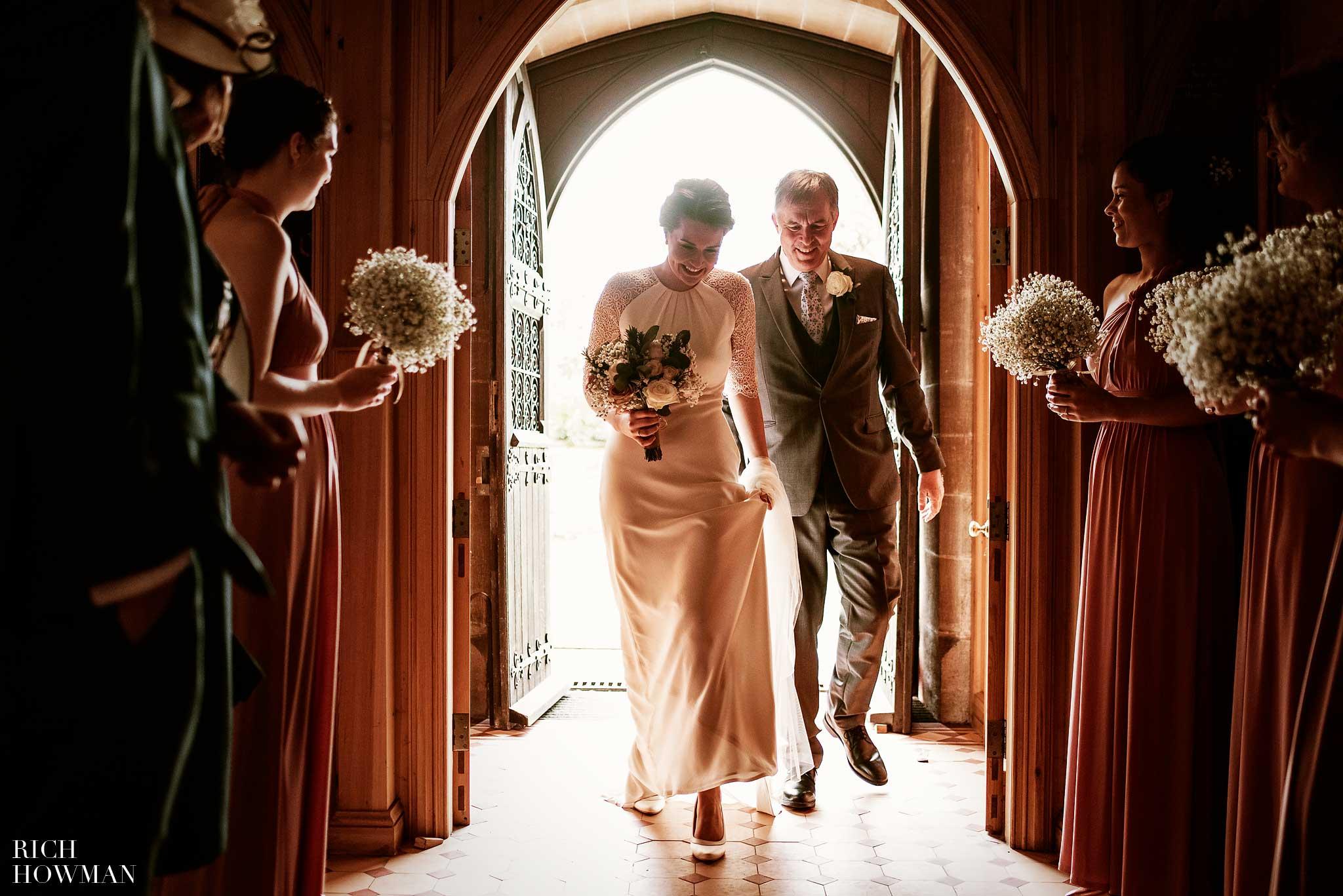 Great Tythe Barn Wedding in Tetbury 44