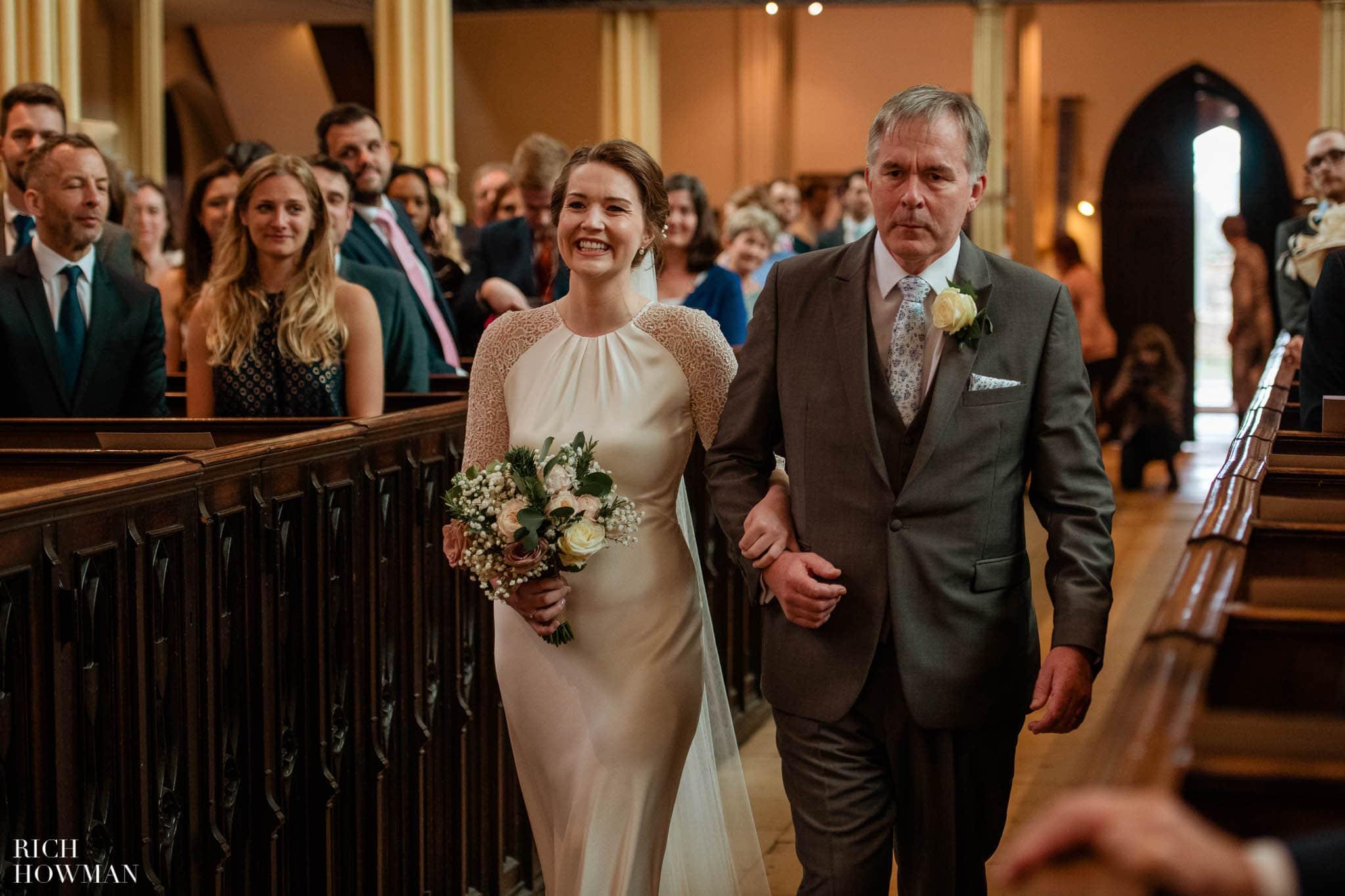 Great Tythe Barn Wedding in Tetbury 46
