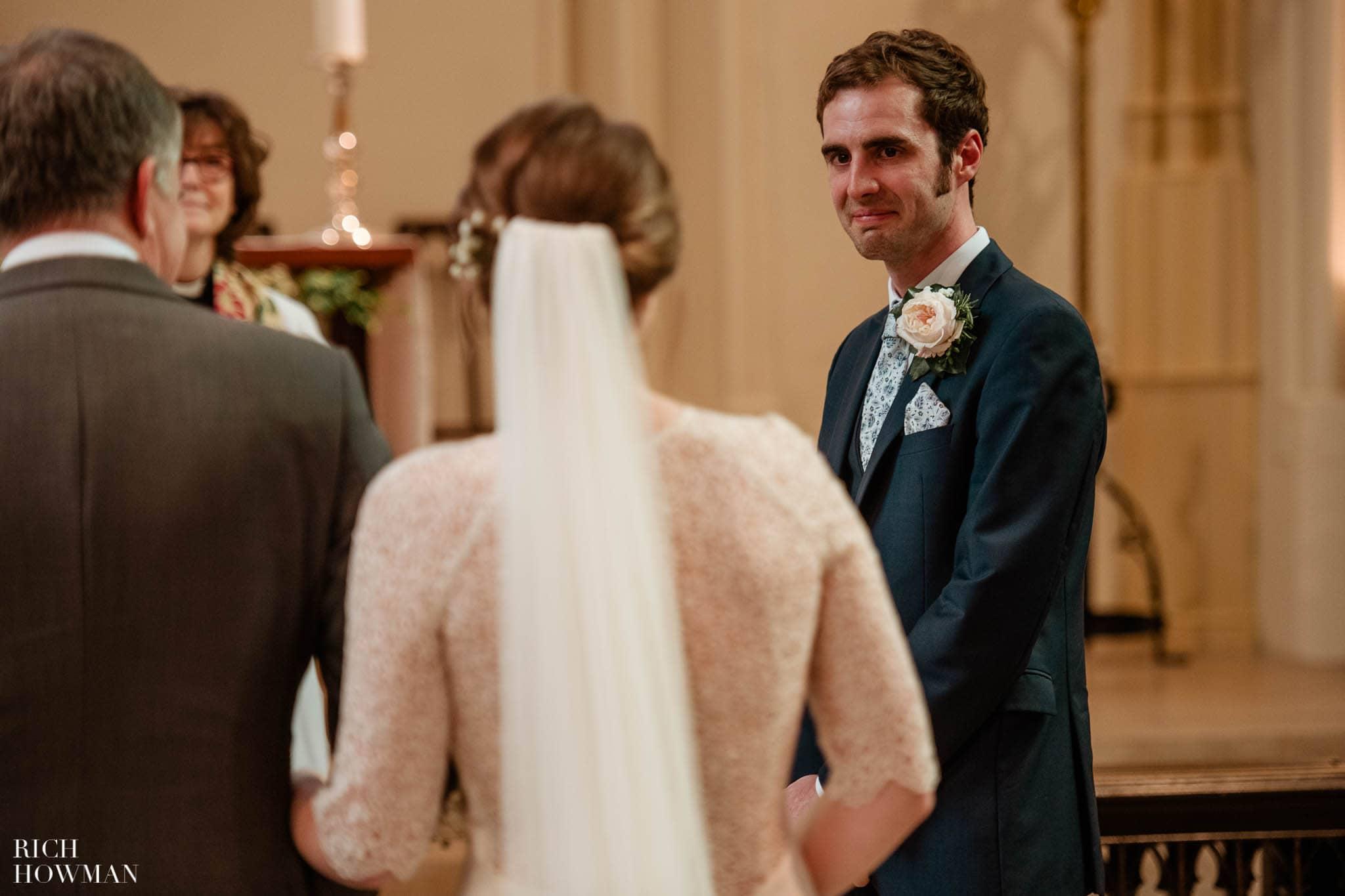 Great Tythe Barn Wedding in Tetbury 47