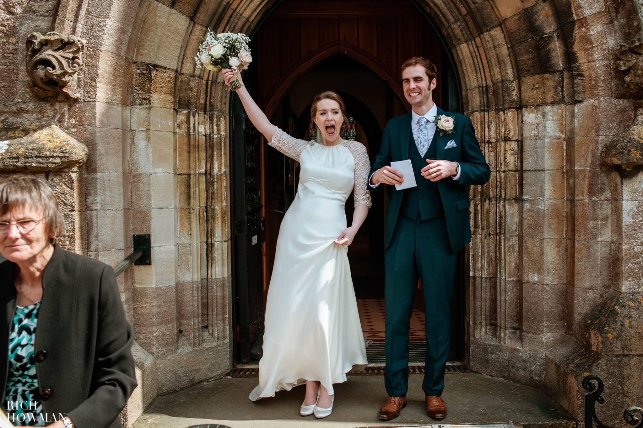 Great Tythe Barn Wedding in Tetbury 51