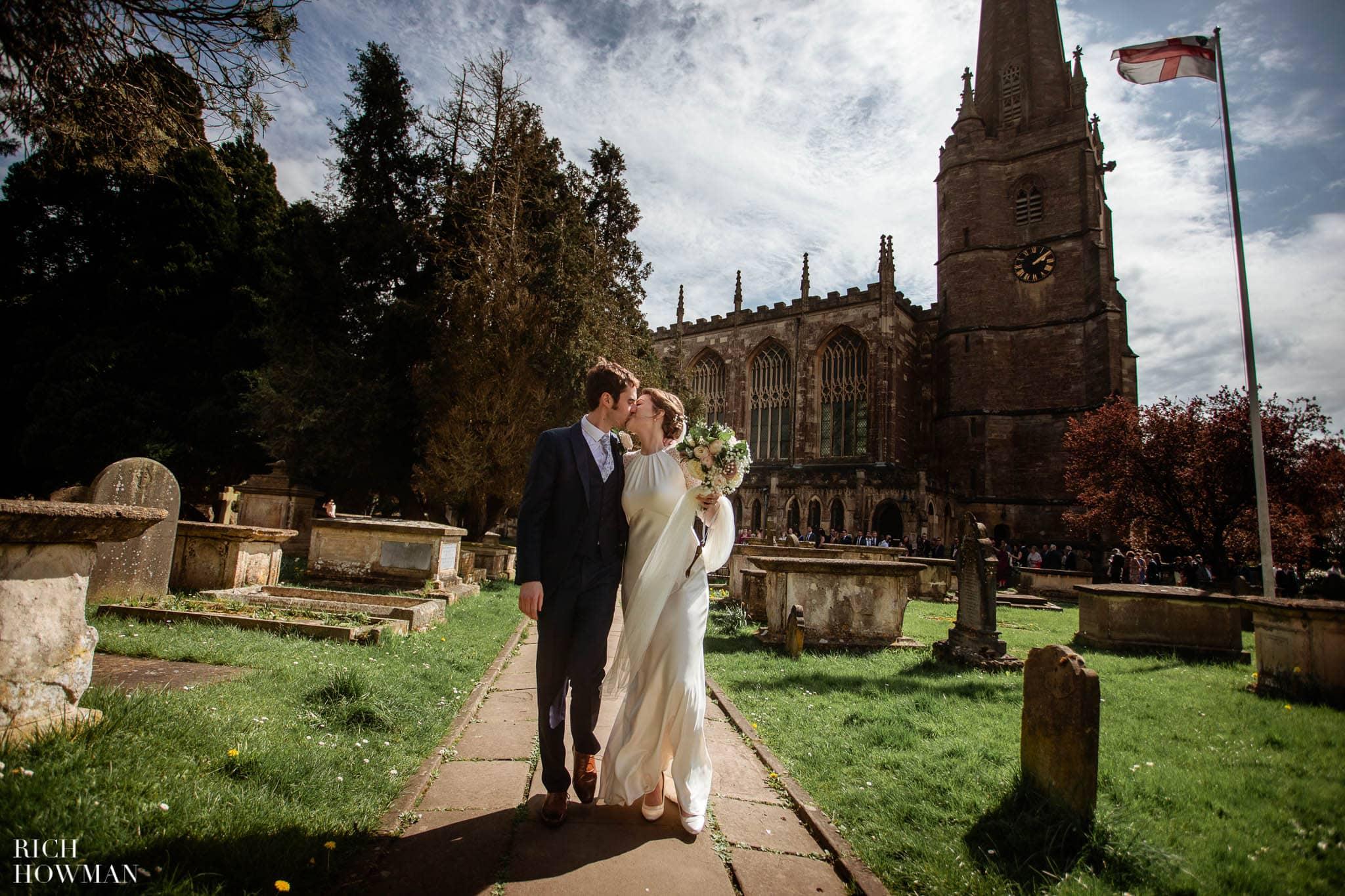 Great Tythe Barn Wedding in Tetbury 52