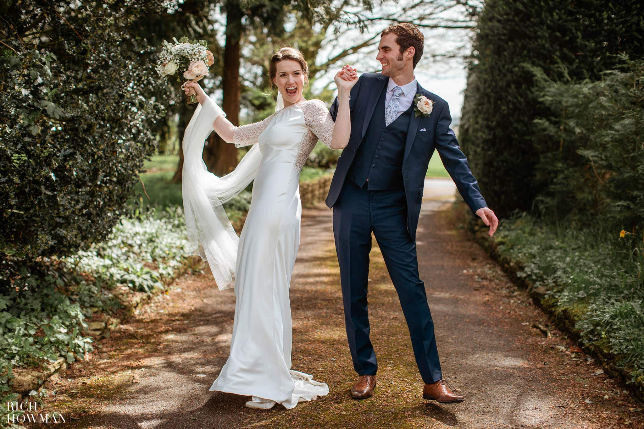 Great Tythe Barn Wedding in Tetbury 58