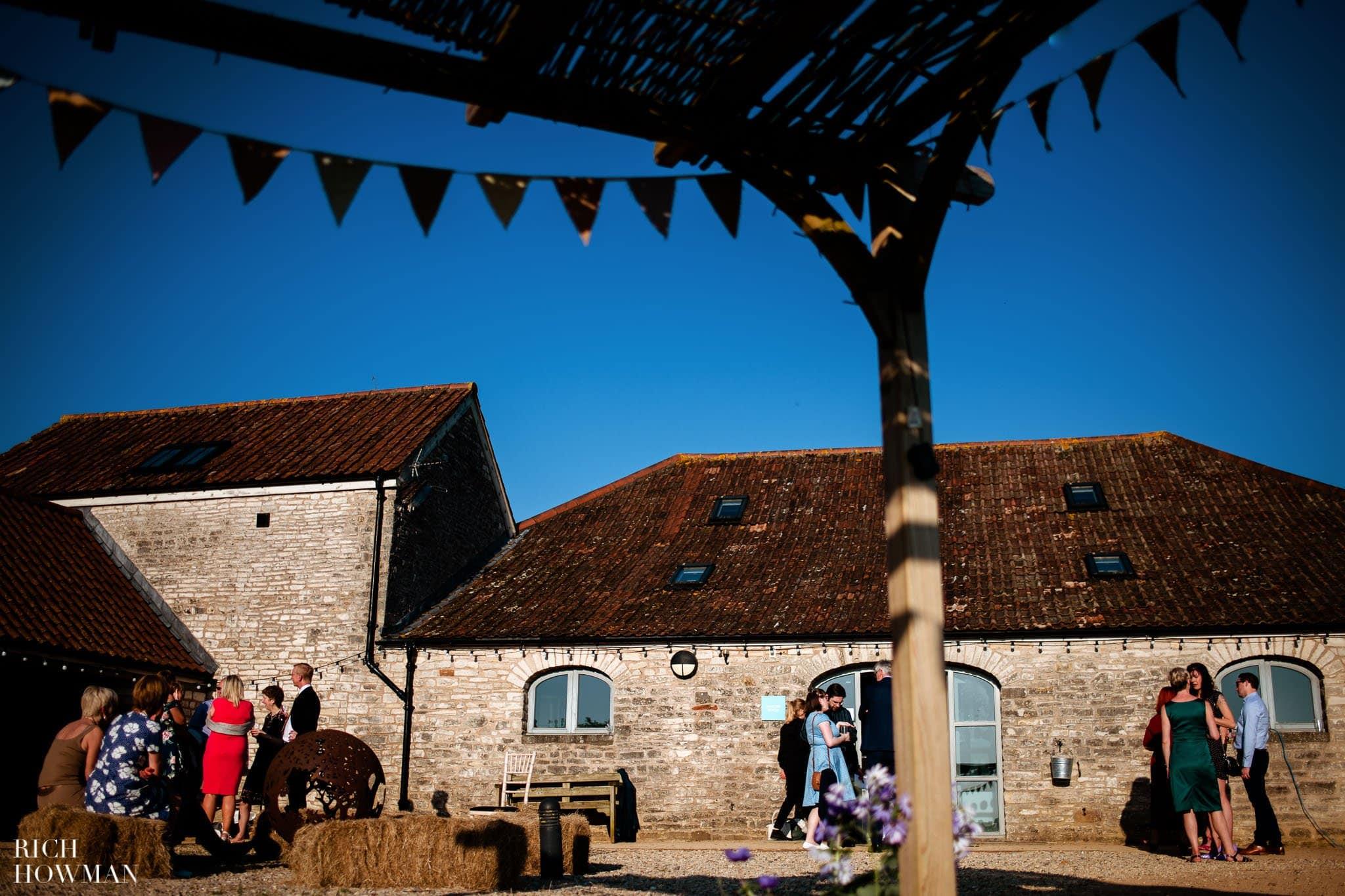 Outdoor Wedding Ceremony in Somerset