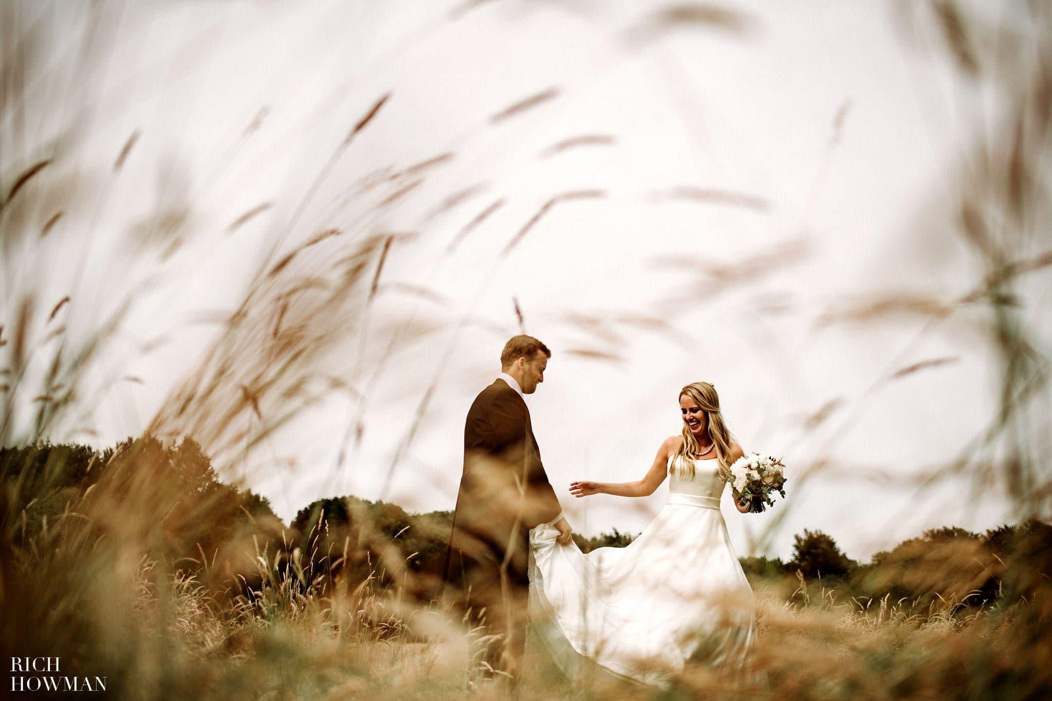 Amber de Savary Wedding