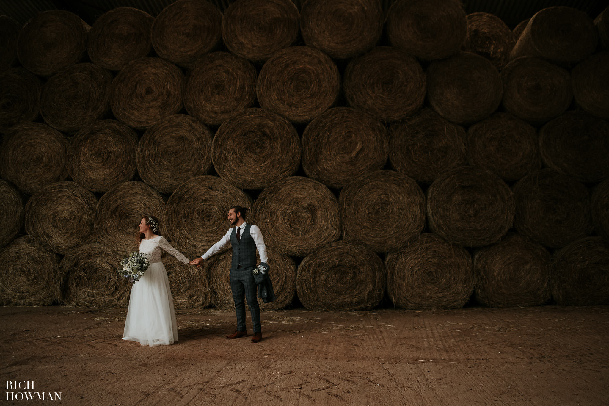 Huntstile Organic Farm Wedding in a Barn