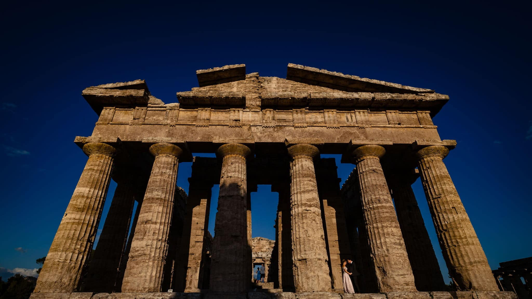 Paestum Temples Wedding Photographer 1